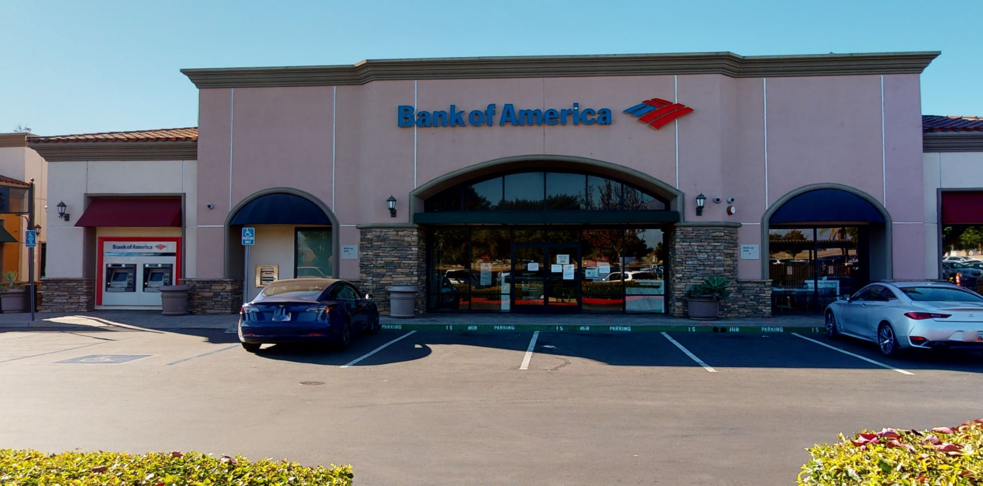 Bank of America financial center with walk-up ATM | 3650 Grand Ave, Chino Hills, CA 91709