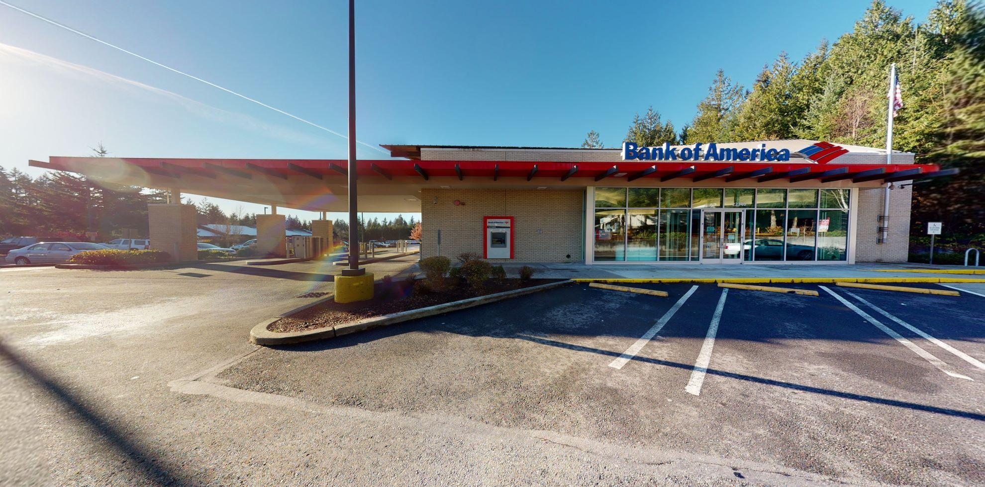 Bank of America financial center with drive-thru ATM | 22340 NE Marketplace Dr, Redmond, WA 98053