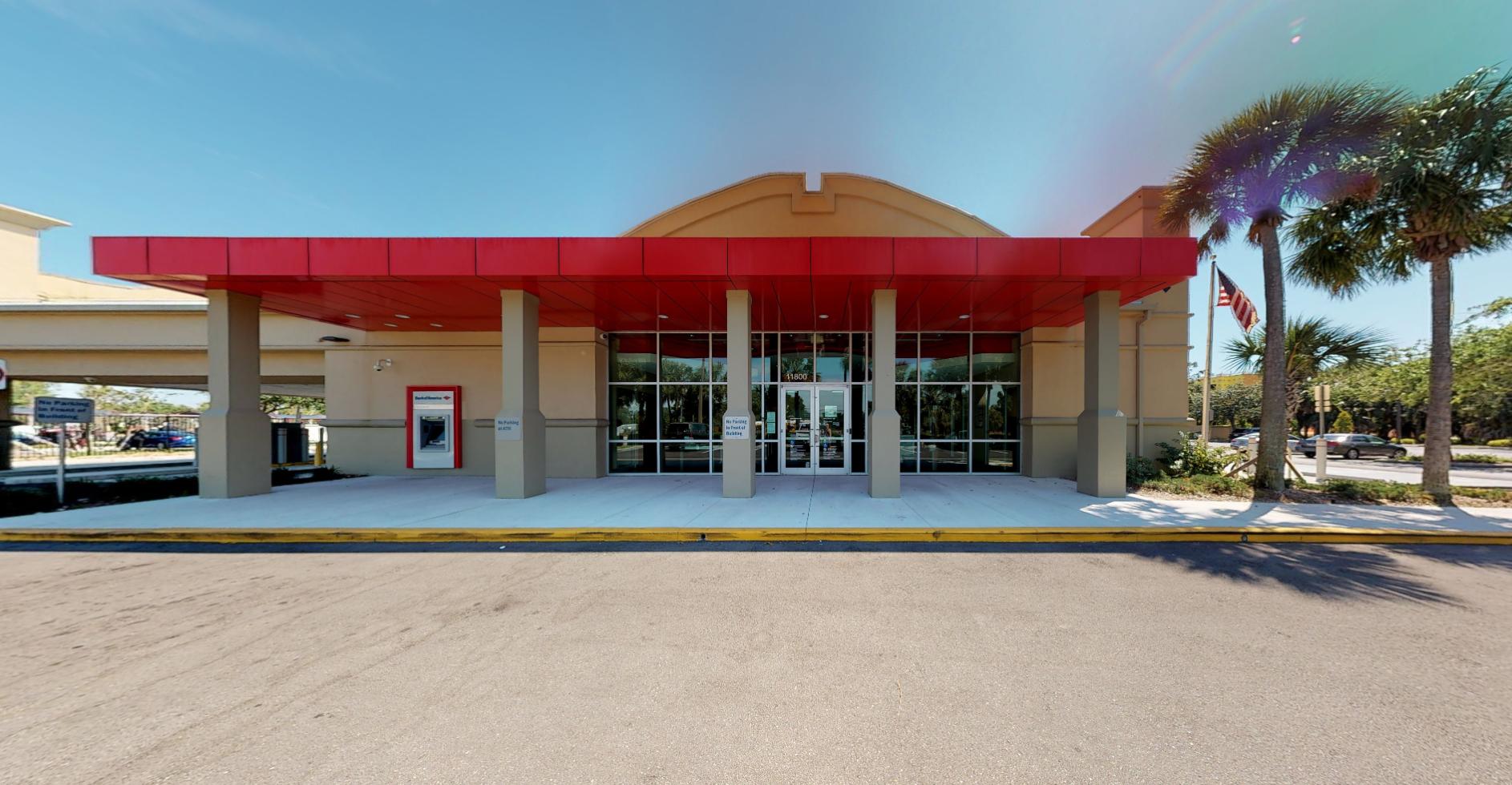 Bank of America financial center with drive-thru ATM   11800 Saradrienne Ln, Bonita Springs, FL 34135