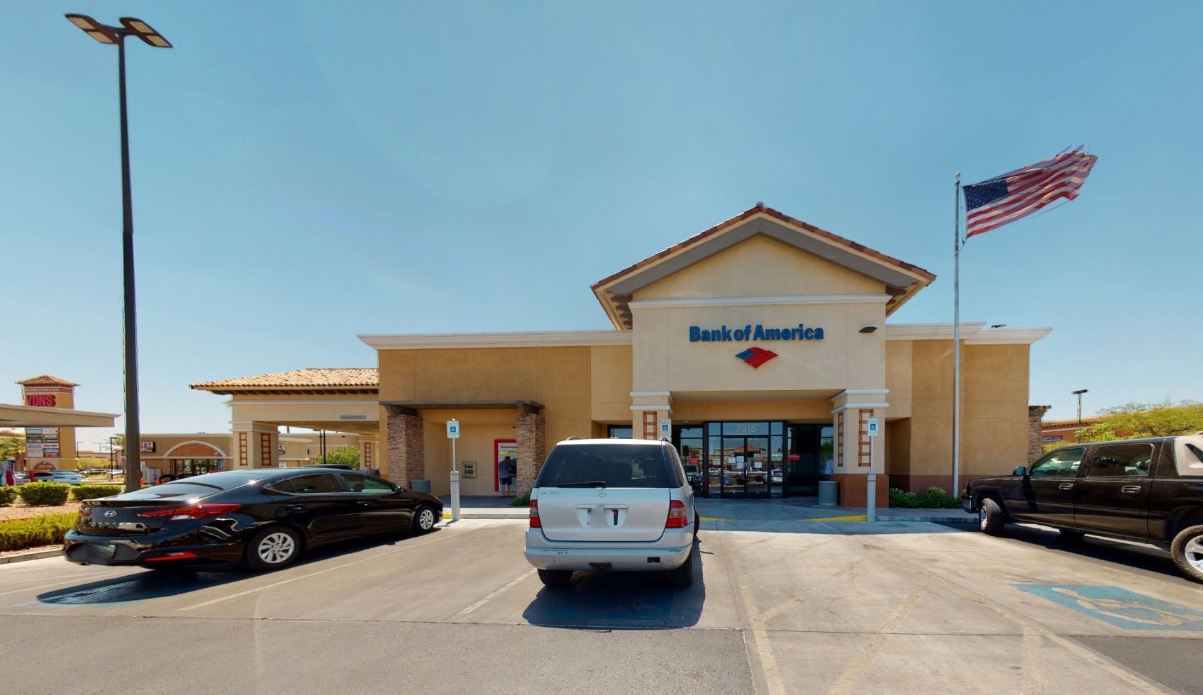 Bank of America financial center with drive-thru ATM   7315 S Durango Dr, Las Vegas, NV 89113