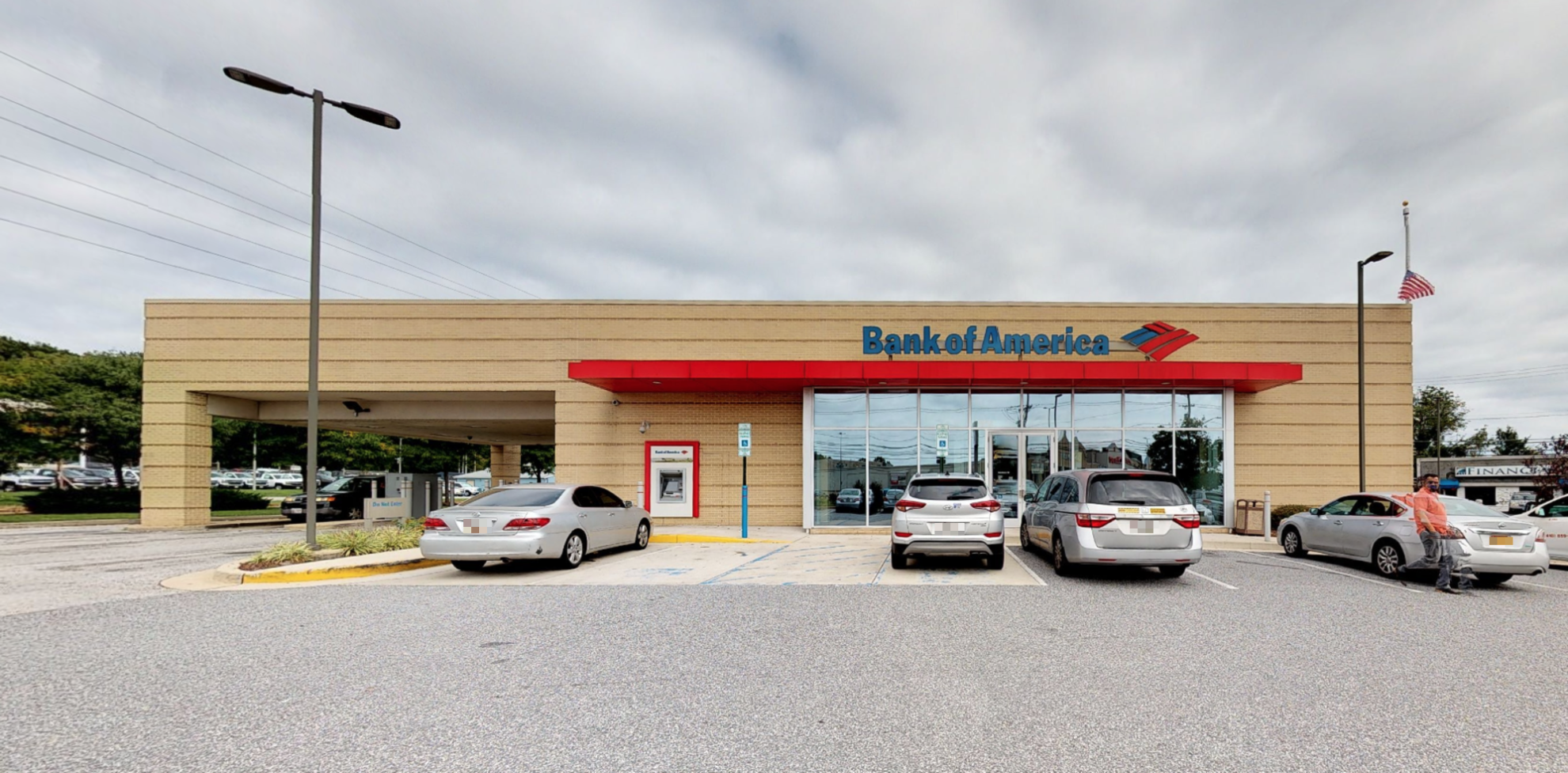 Bank of America financial center with drive-thru ATM | 1952 E Joppa Rd, Parkville, MD 21234