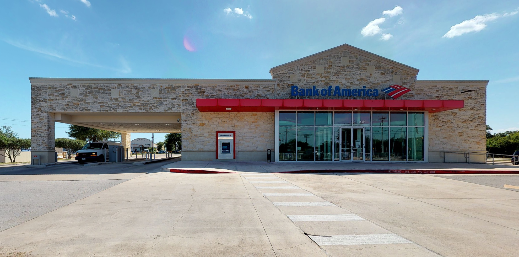 Bank of America financial center with drive-thru ATM | 4520 Williams Dr, Georgetown, TX 78633