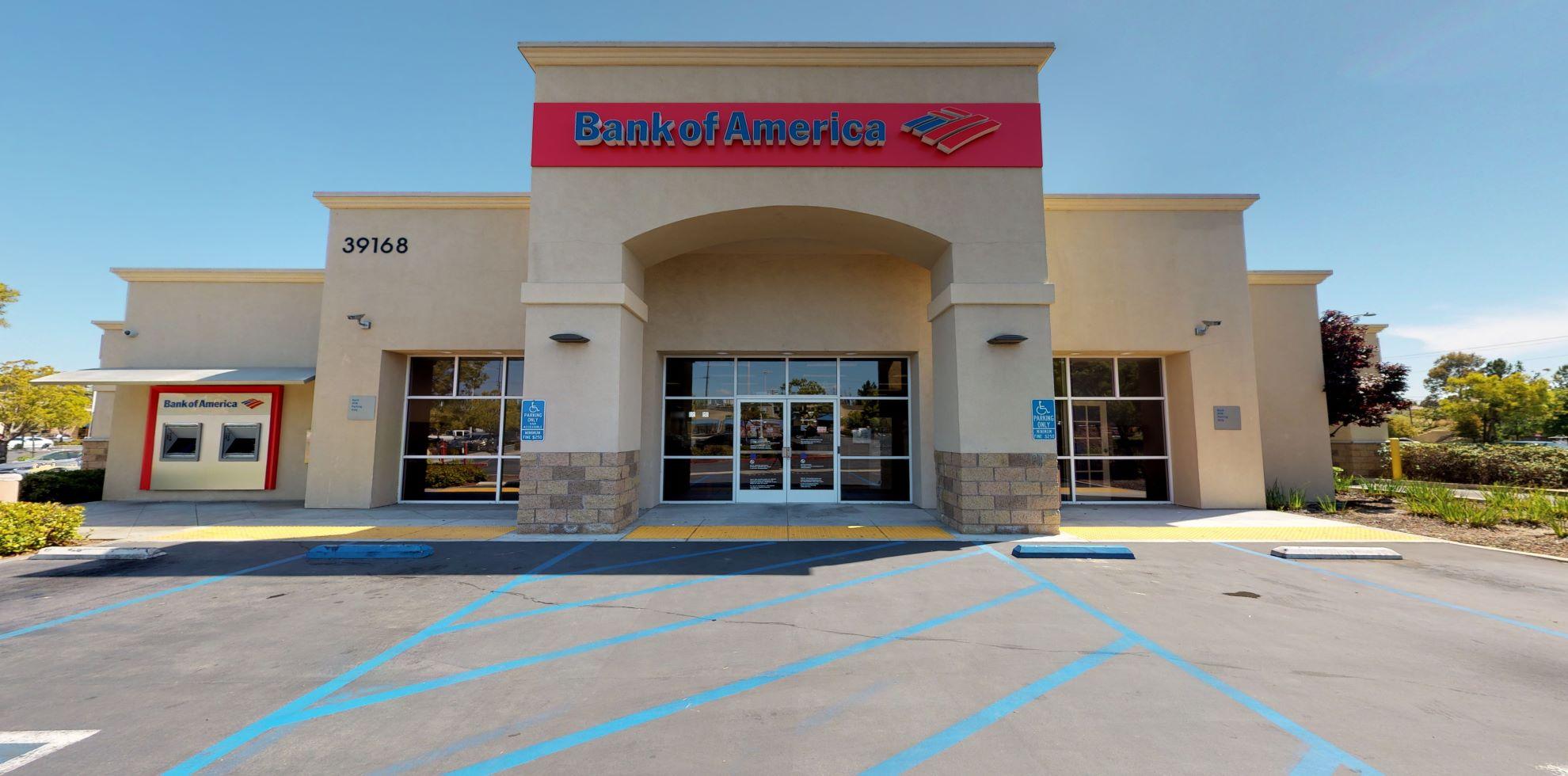 Bank of America financial center with drive-thru ATM | 39168 Winchester Rd, Murrieta, CA 92563