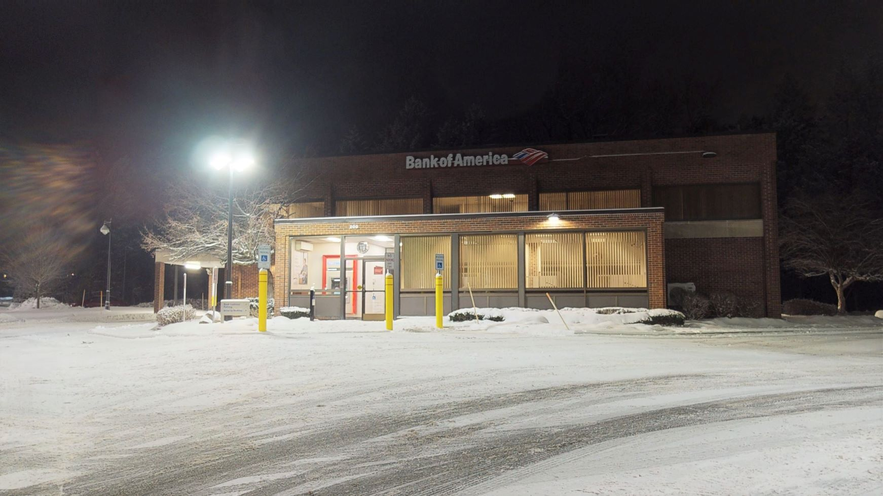 Bank of America financial center with drive-thru ATM   200 Saratoga Rd, Scotia, NY 12302