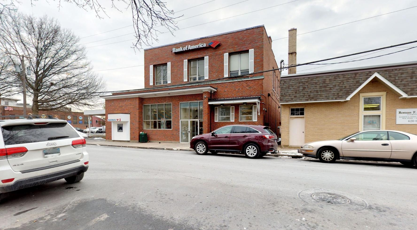 Bank of America financial center with drive-thru ATM | 22 Main St, Southington, CT 06489