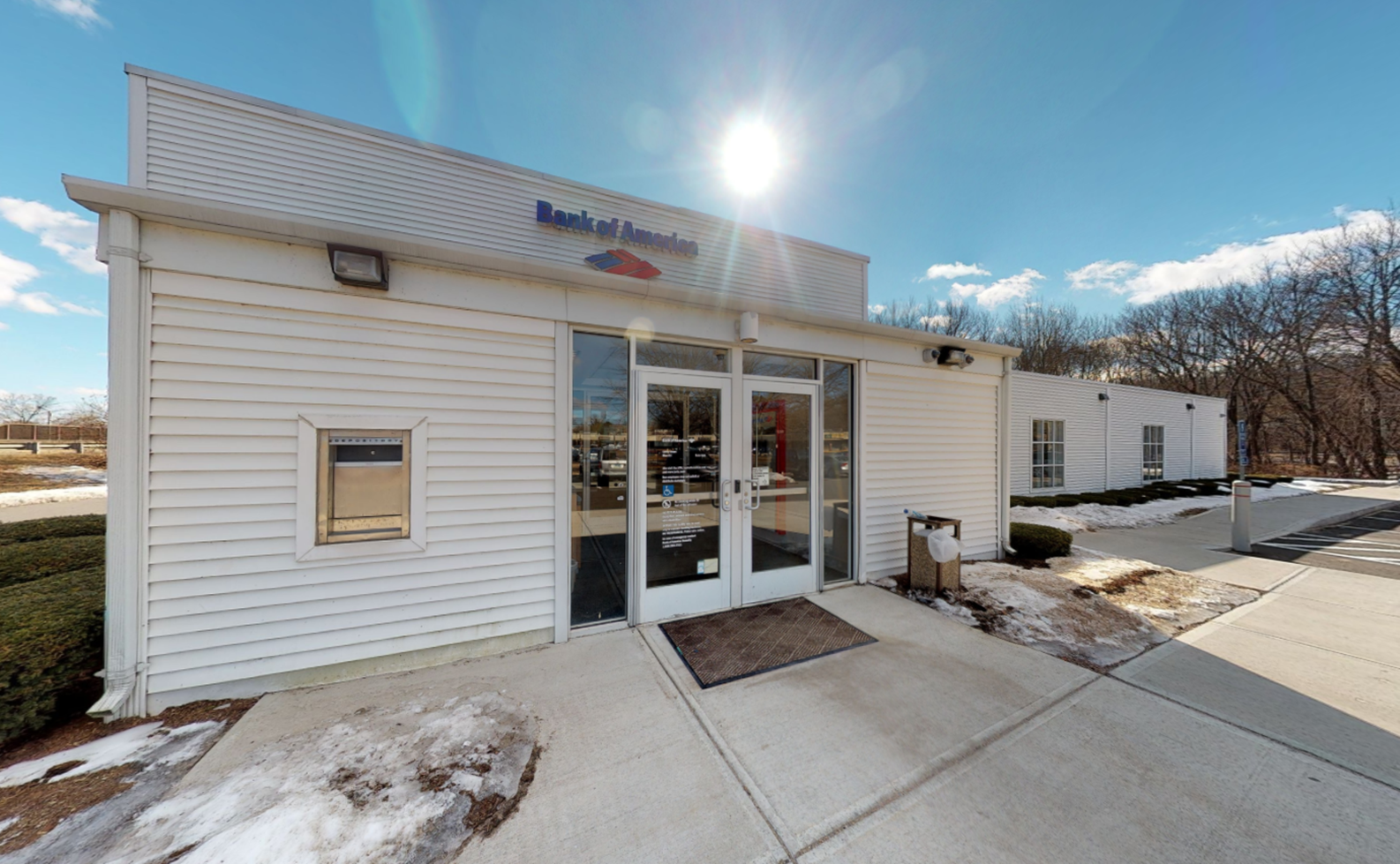 Bank of America financial center with drive-thru ATM   10 Cold Spring Rd, Rocky Hill, CT 06067