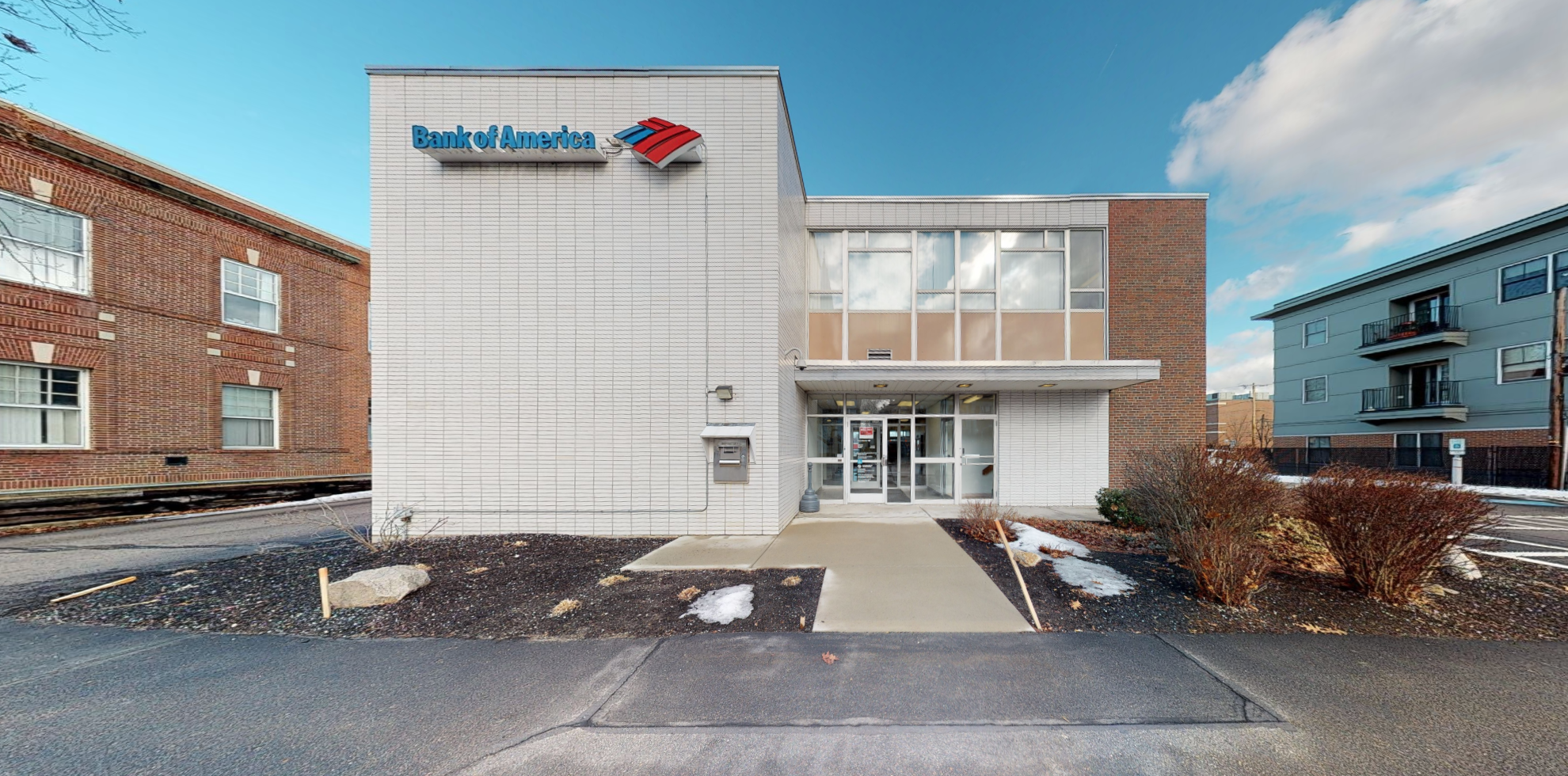 Bank of America financial center with drive-thru ATM   66 S Main St, Rochester, NH 03867