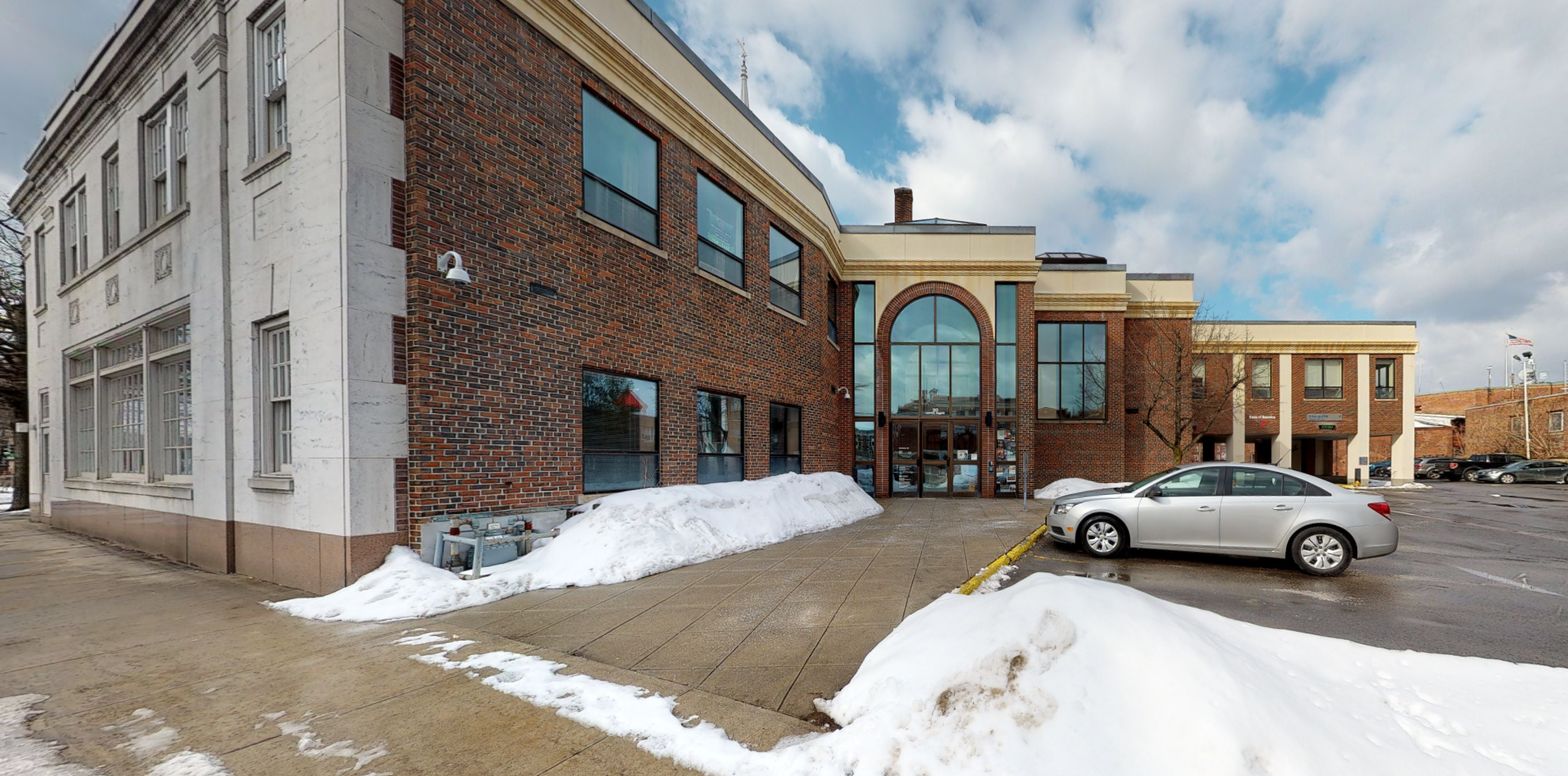 Bank of America financial center with drive-thru ATM | 20 Central Sq, Keene, NH 03431