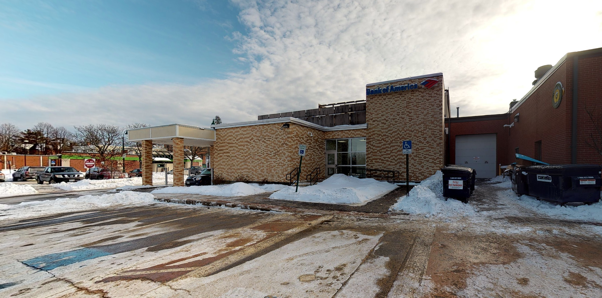 Bank of America financial center with drive-thru ATM | 849 Main St, Westbrook, ME 04092