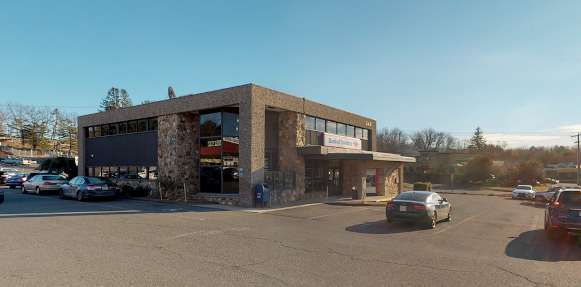 Bank of America financial center with drive-thru ATM   243 Hartford Tpke, Vernon, CT 06066