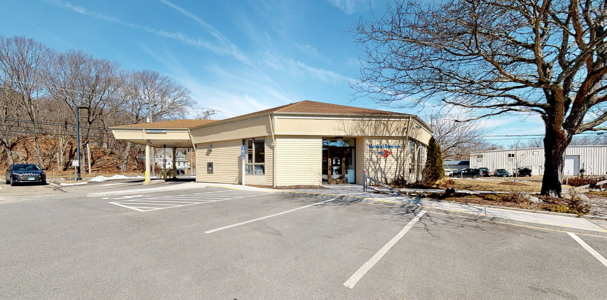 Bank of America financial center with walk-up ATM   125 Westbrook Rd, Essex, CT 06426
