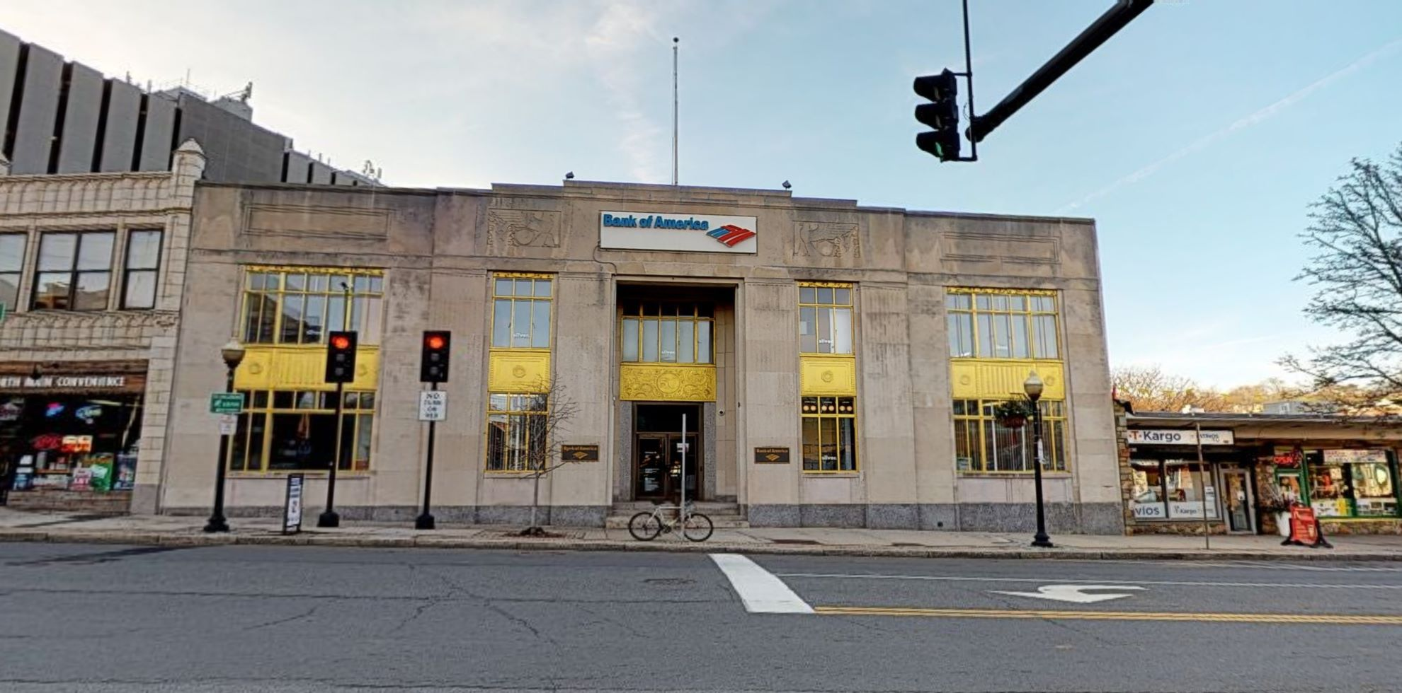 Bank of America financial center with walk-up ATM   50 N Main St, Norwalk, CT 06854