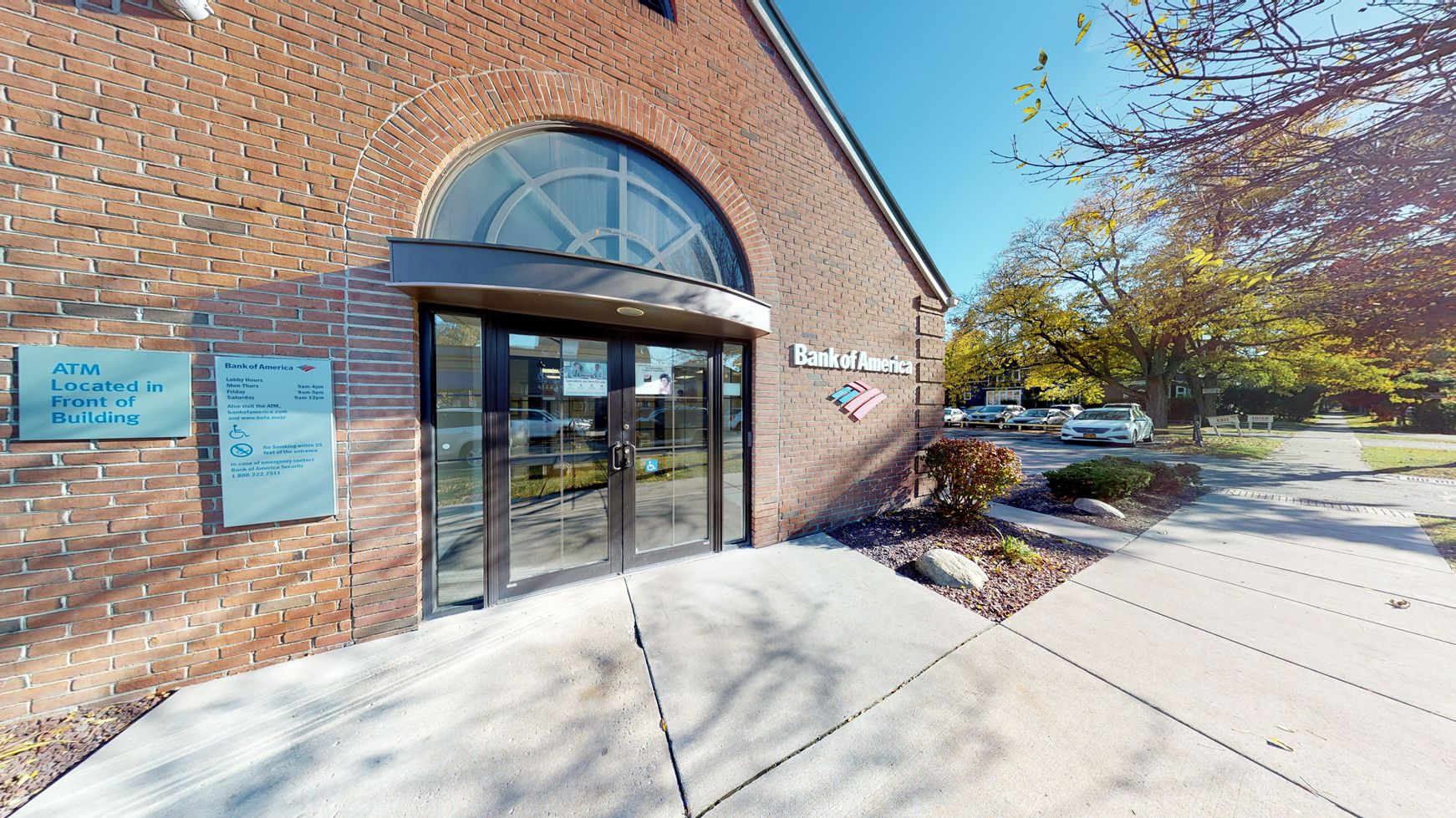 Bank of America financial center with walk-up ATM | 671 Park Ave, Rochester, NY 14607