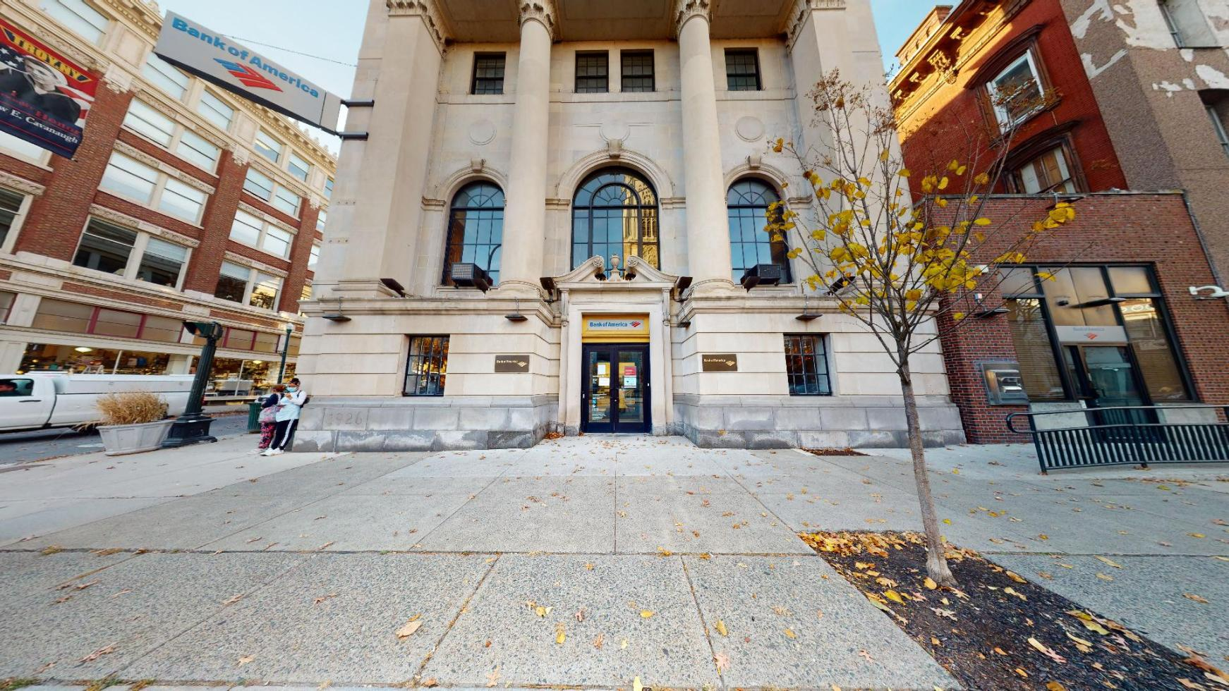 Bank of America financial center with walk-up ATM | 59 3rd St, Troy, NY 12180