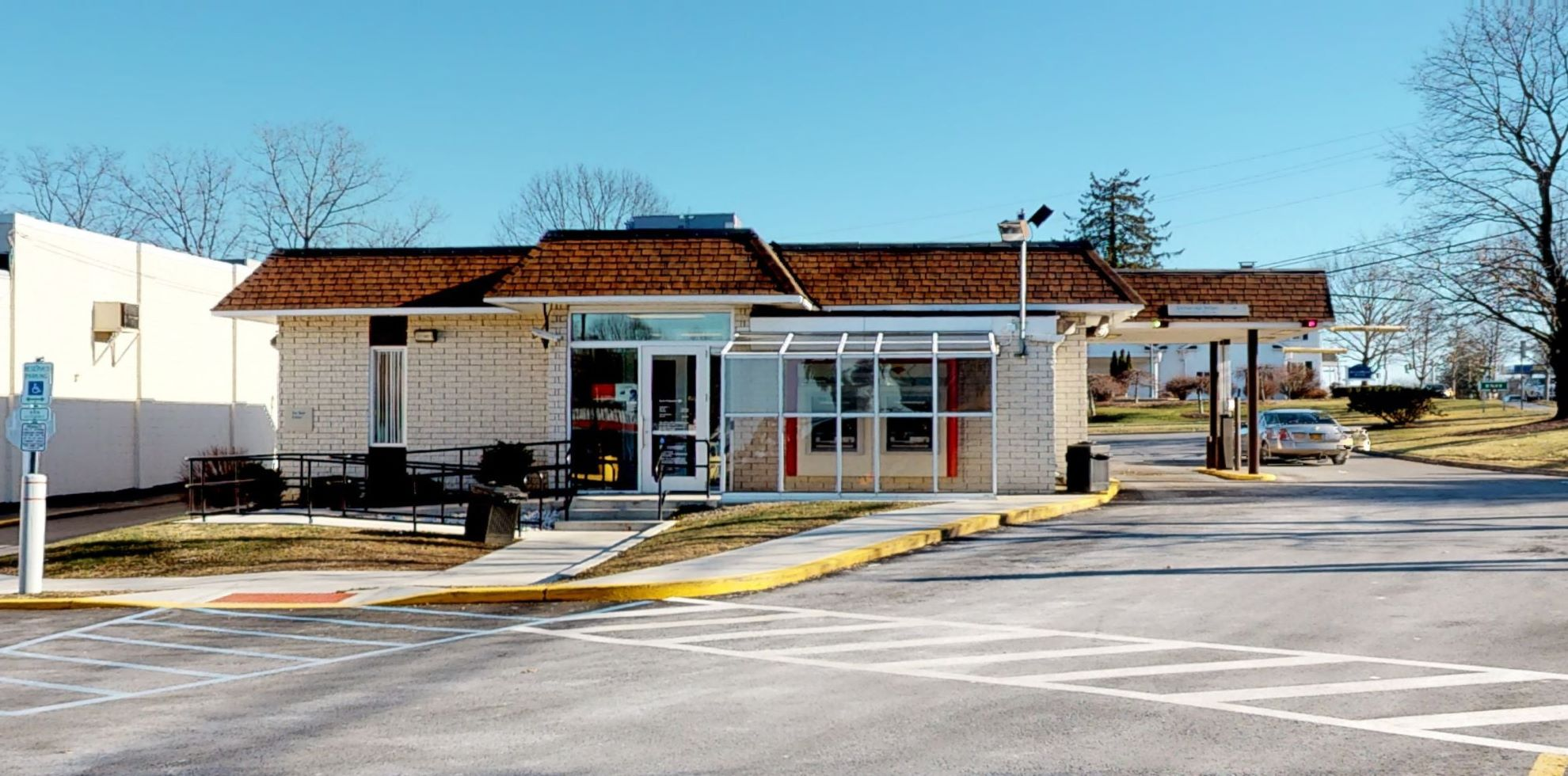 Bank of America financial center with walk-up ATM   1 New Paltz Plz, New Paltz, NY 12561
