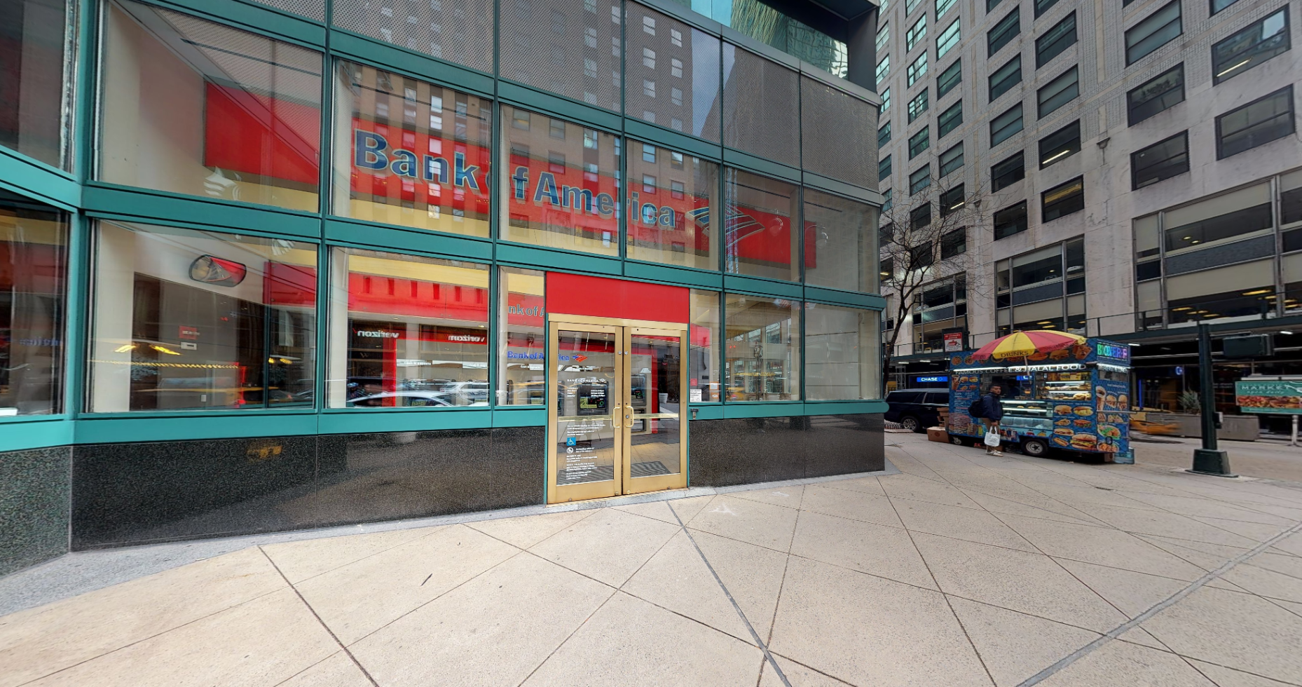Bank of America financial center with walk-up ATM   425 Lexington Ave Frnt B, New York, NY 10017