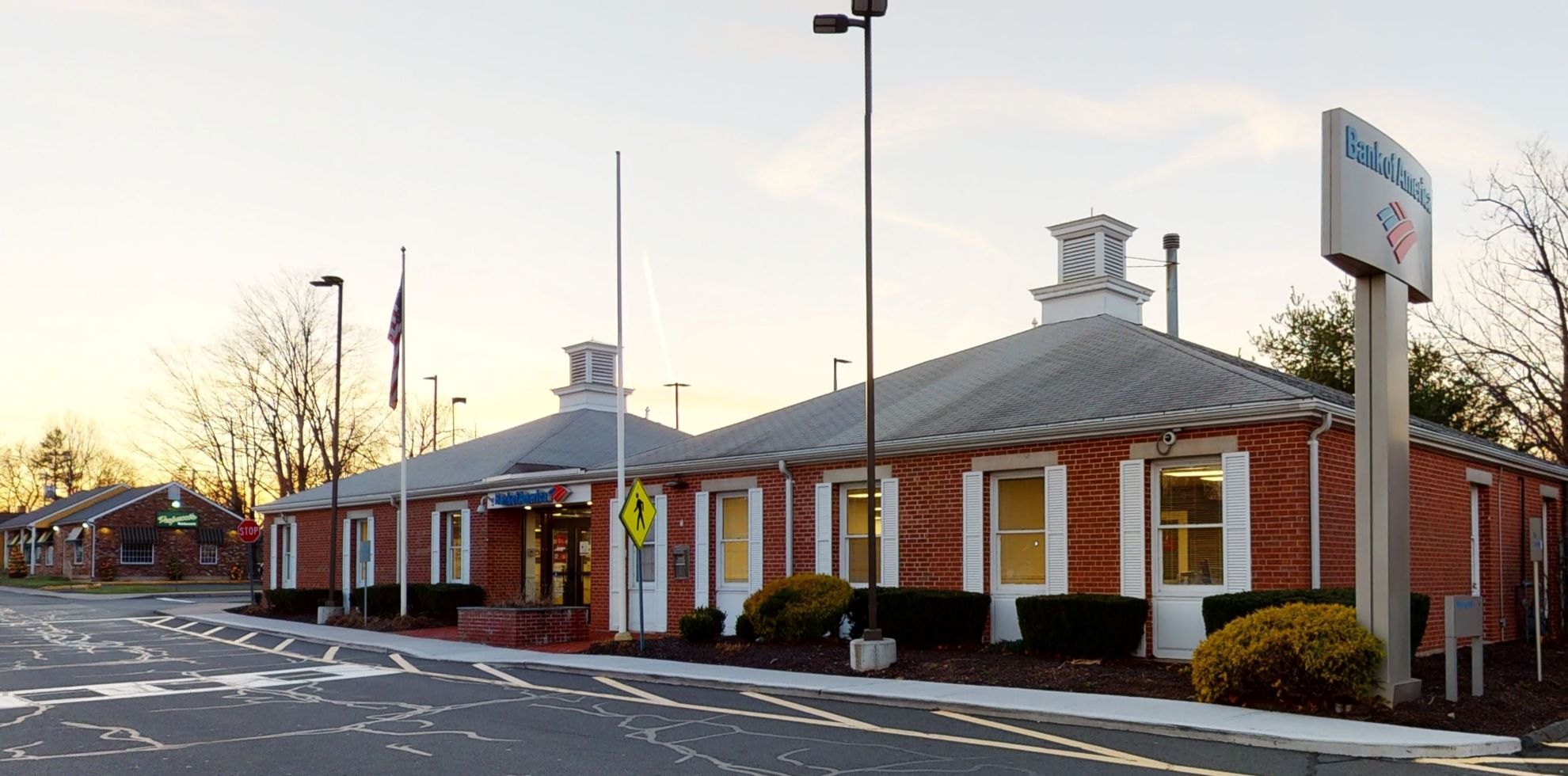 Bank of America financial center with drive-thru ATM | 185 Highland Ave, Cheshire, CT 06410