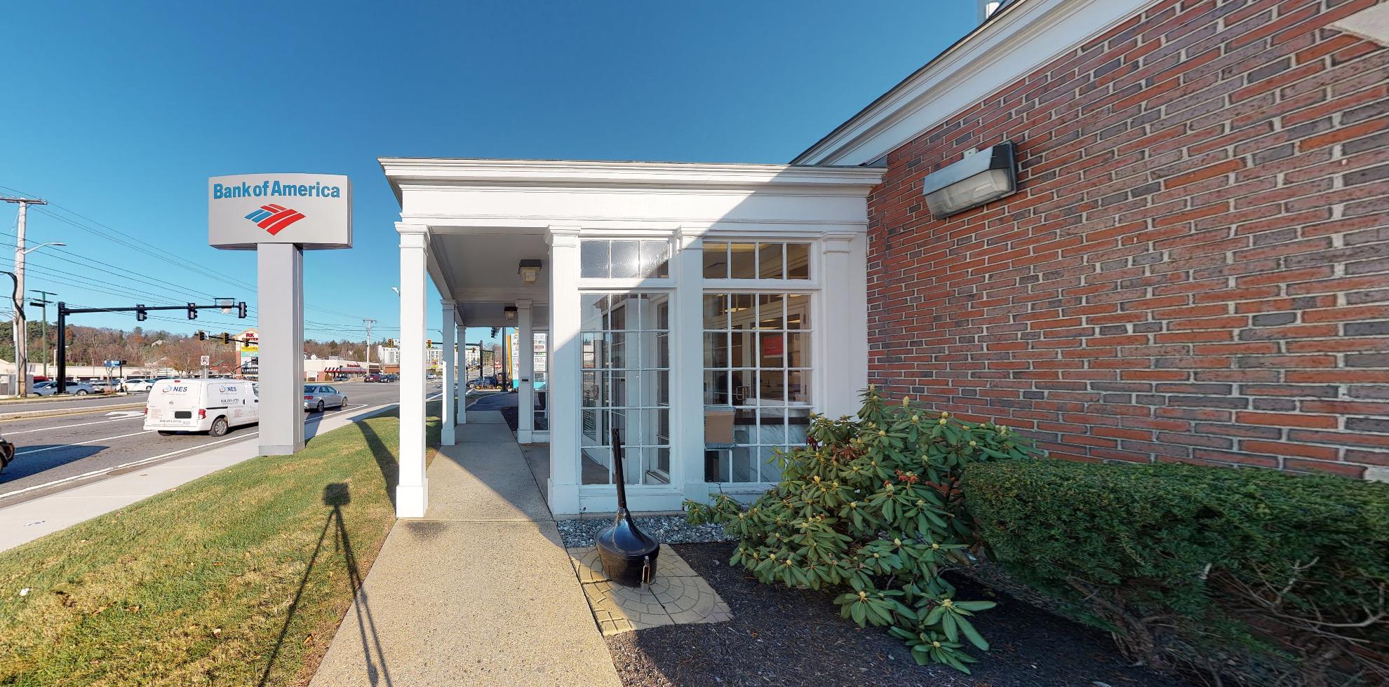 Bank of America financial center with drive-thru ATM   190 Boston Post Rd W, Marlborough, MA 01752