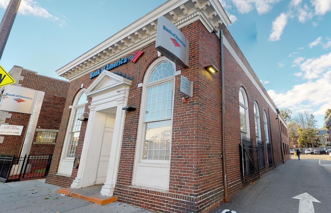 Bank of America financial center with drive-thru ATM   677 Centre St, Jamaica Plain, MA 02130
