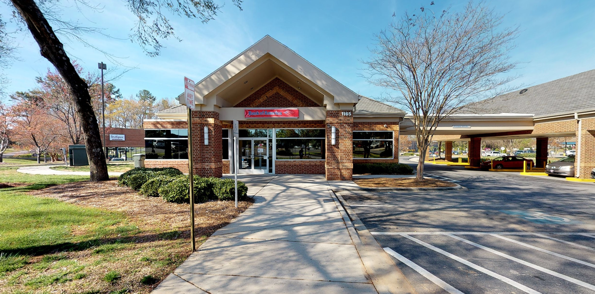 Bank of America financial center with drive-thru ATM   1165 Cherry Rd, Rock Hill, SC 29732