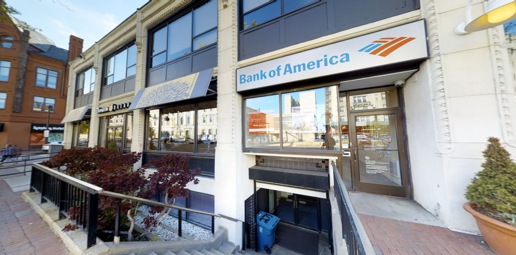 Bank of America financial center with walk-up ATM | 285 Huntington Ave, Boston, MA 02115