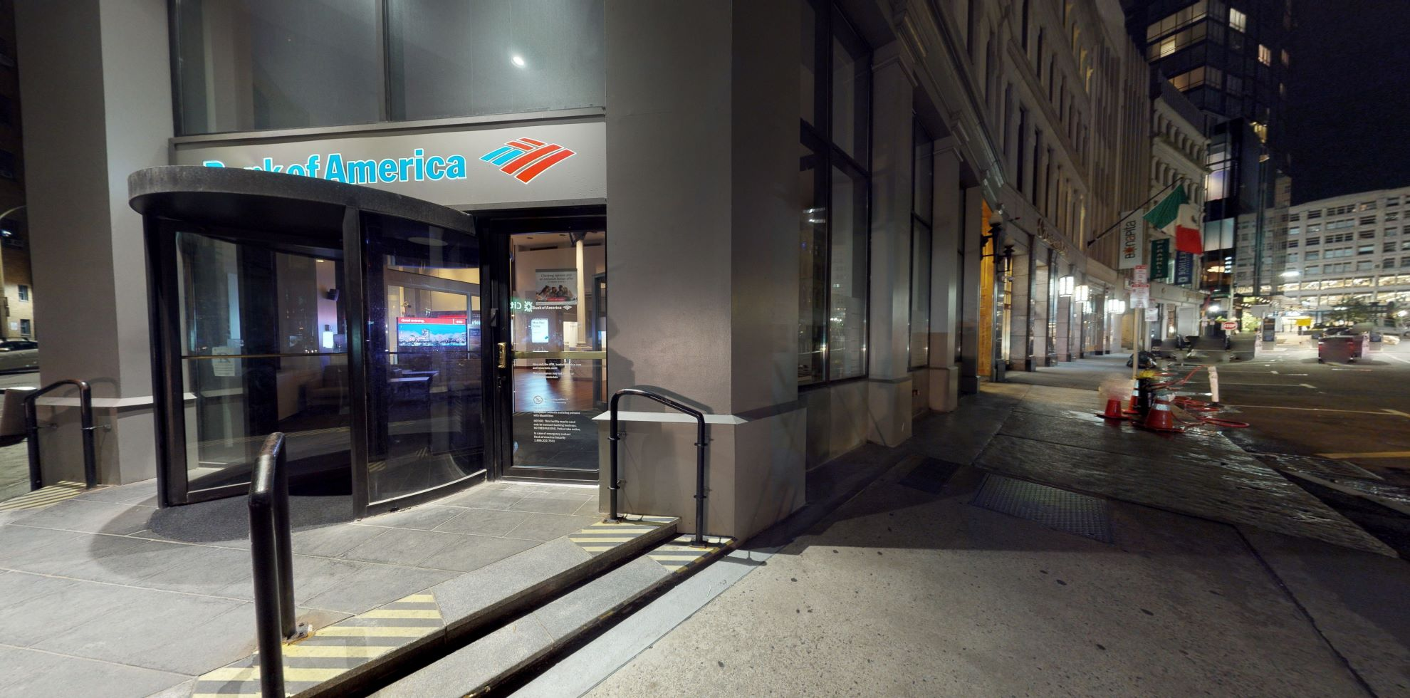 Bank of America financial center with walk-up ATM   65 Franklin St, Boston, MA 02110