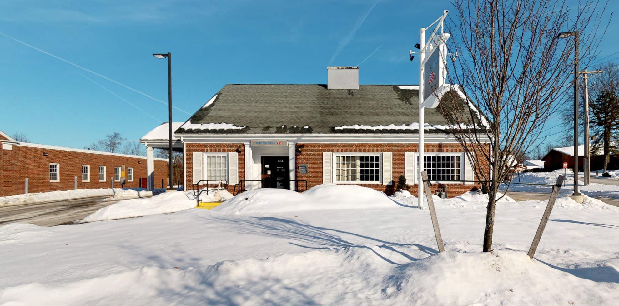 Bank of America financial center with drive-thru ATM   464 Boston Rd, Billerica, MA 01821