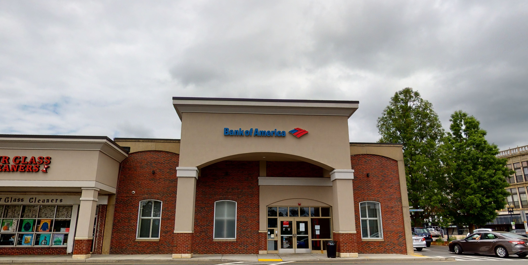 Bank of America financial center with drive-thru ATM   1 State St, Lynn, MA 01901