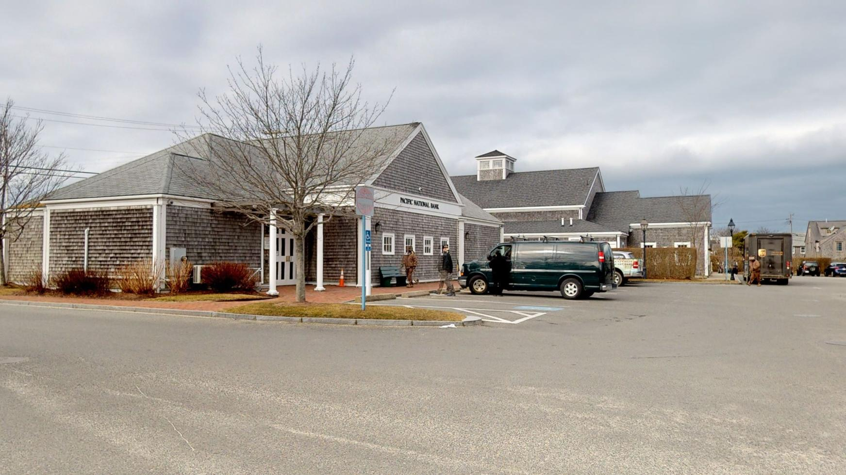 Bank of America financial center with drive-thru ATM and teller   15 Sparks Ave, Nantucket, MA 02554