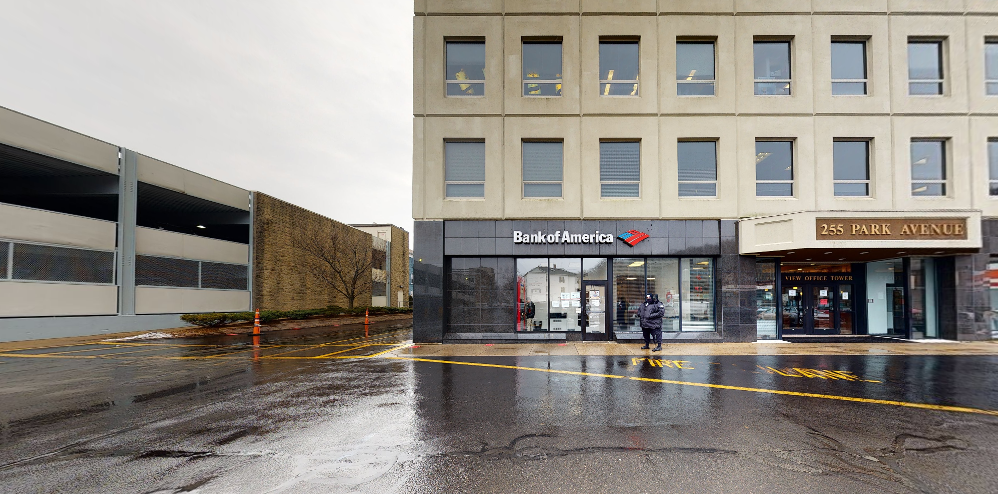 Bank of America financial center with drive-thru ATM | 255 Park Ave, Worcester, MA 01609
