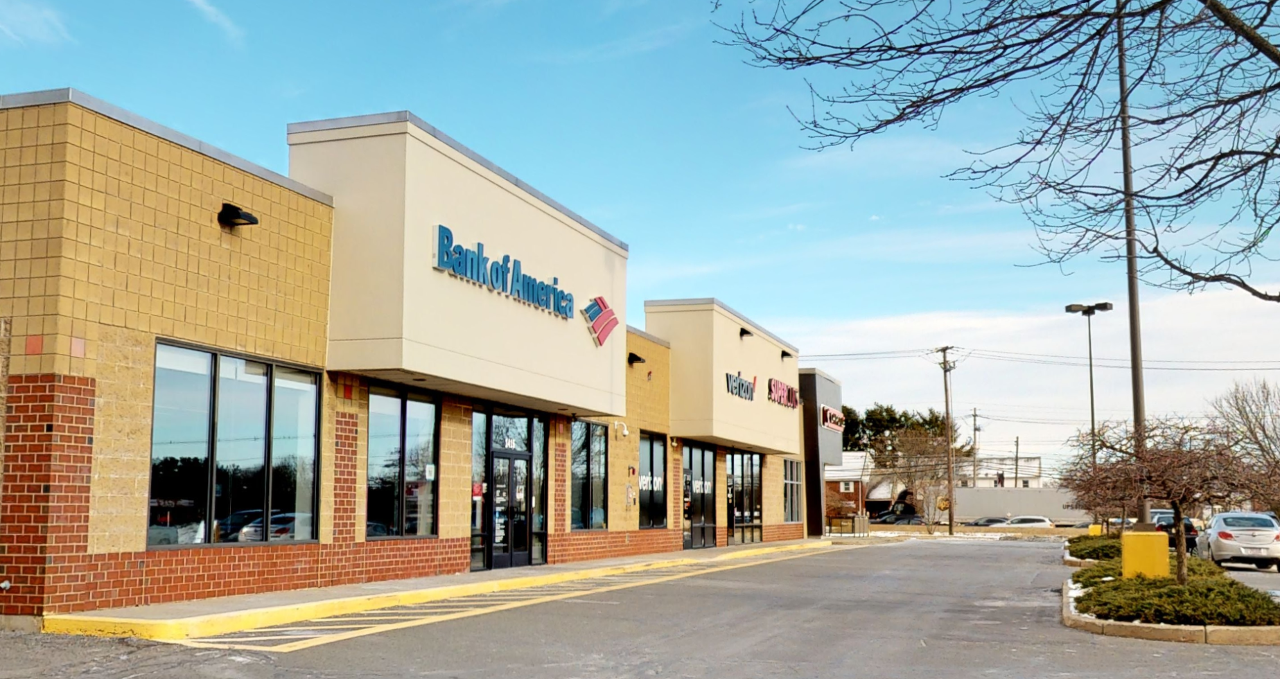 Bank of America financial center with walk-up ATM   1415 Providence Hwy, Norwood, MA 02062