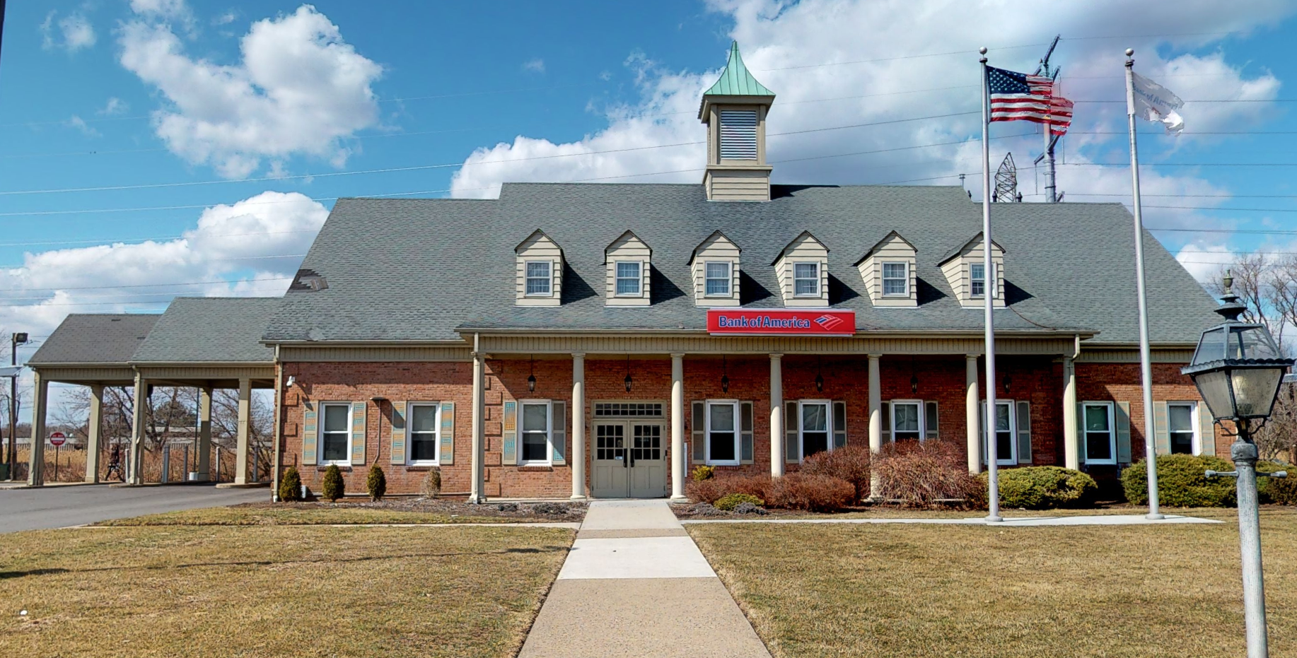 Bank of America financial center with drive-thru ATM | 597 Passaic Ave, West Caldwell, NJ 07006