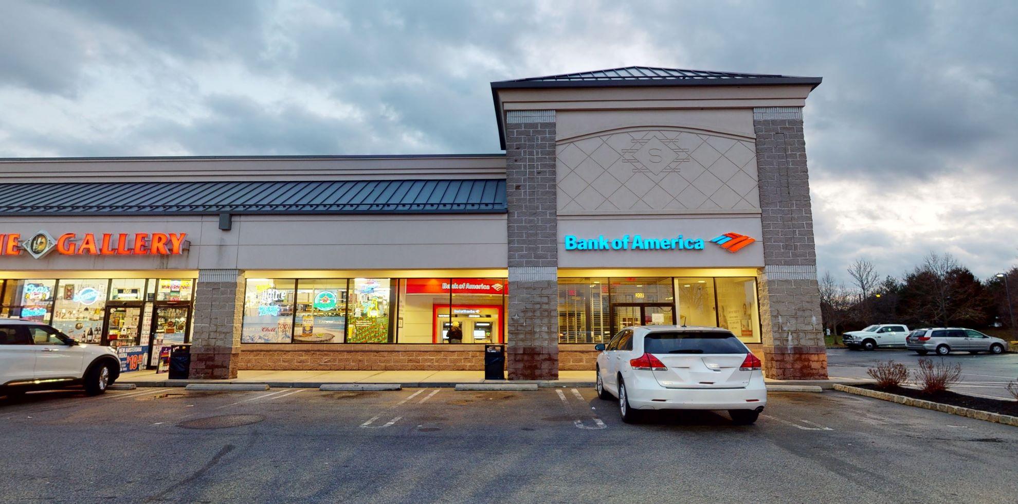 Bank of America financial center with walk-up ATM | 24 Summerfield Blvd, Dayton, NJ 08810