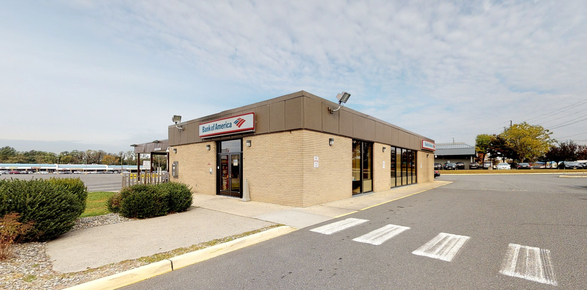 Bank of America financial center with drive-thru ATM   2 Bethany Rd, Hazlet, NJ 07730