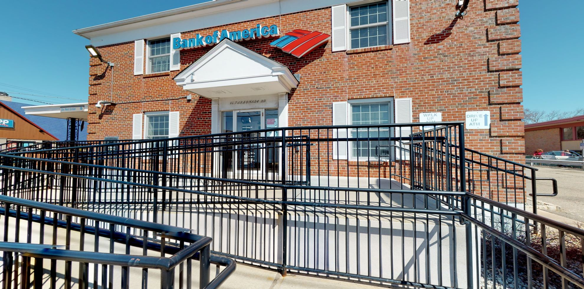 Bank of America financial center with drive-thru ATM | 46 Parsonage Rd, Edison, NJ 08837