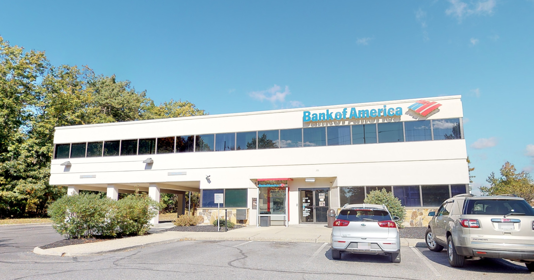 Bank of America financial center with drive-thru ATM | 395 Route 70, Lakewood, NJ 08701