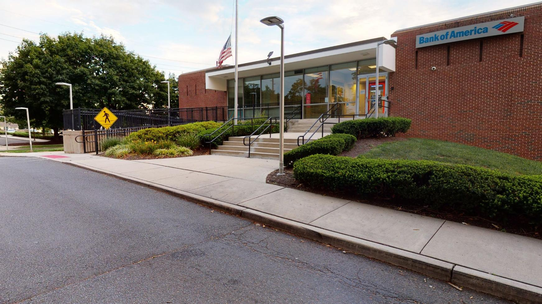 Bank of America financial center with drive-thru ATM   450 Route 33, Mercerville, NJ 08619