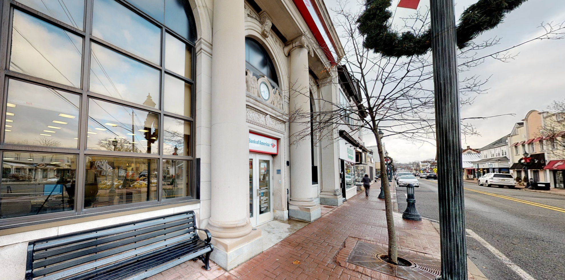 Bank of America financial center with drive-thru ATM   76 E Main St, Ramsey, NJ 07446