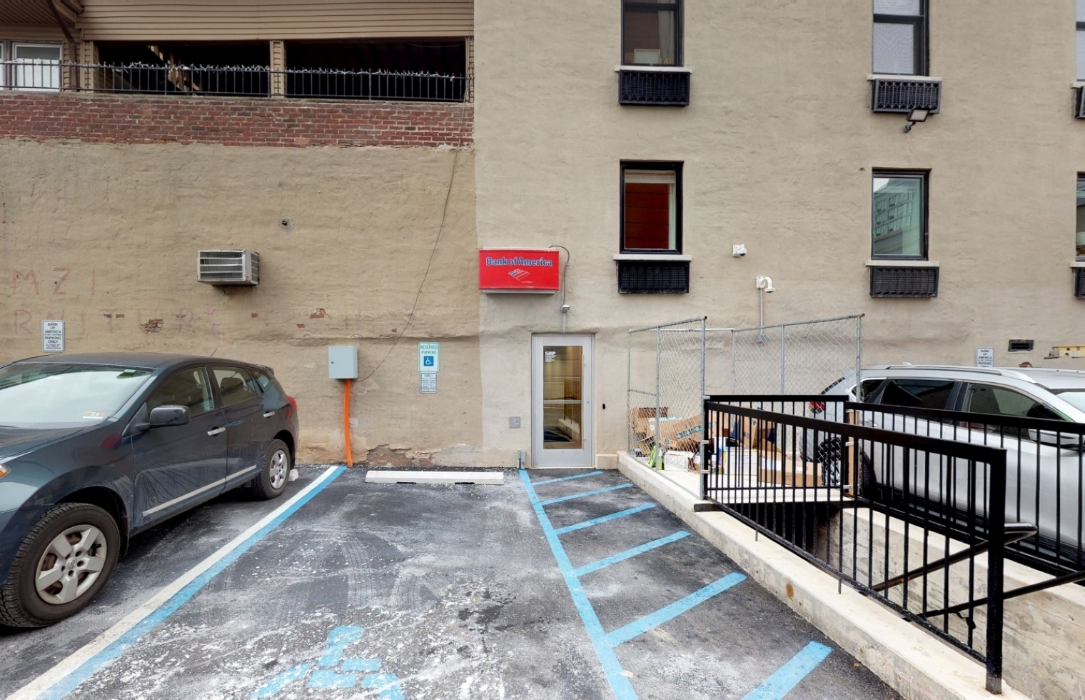 Bank of America financial center with walk-up ATM   880 Bergen Ave, Jersey City, NJ 07306