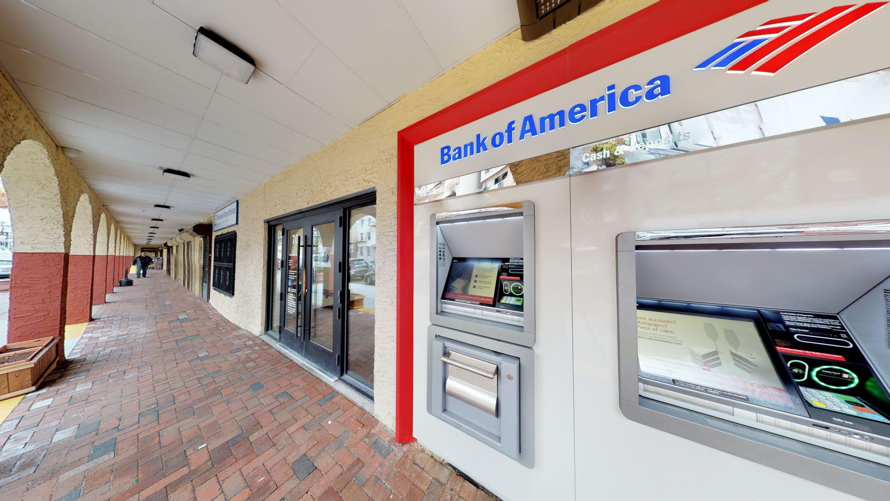 Bank of America financial center with drive-thru ATM   70 Adams St, Newark, NJ 07105