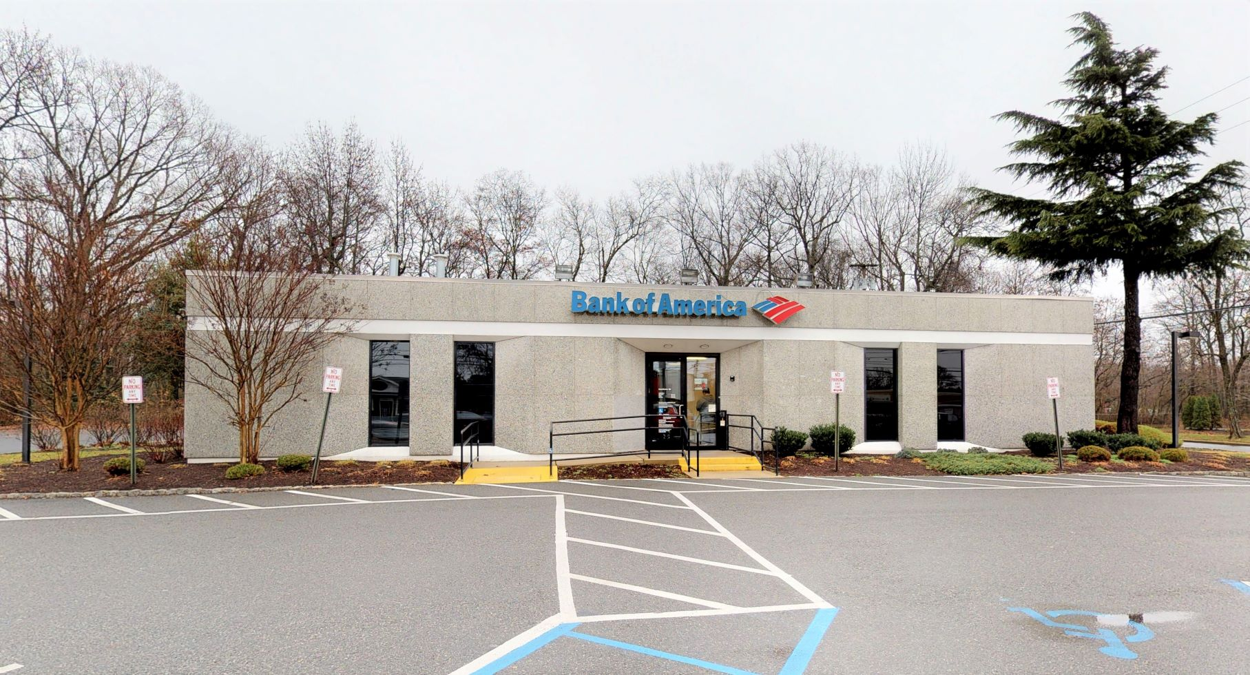 Bank of America financial center with drive-thru ATM | 3841 Bayshore Rd, North Cape May, NJ 08204