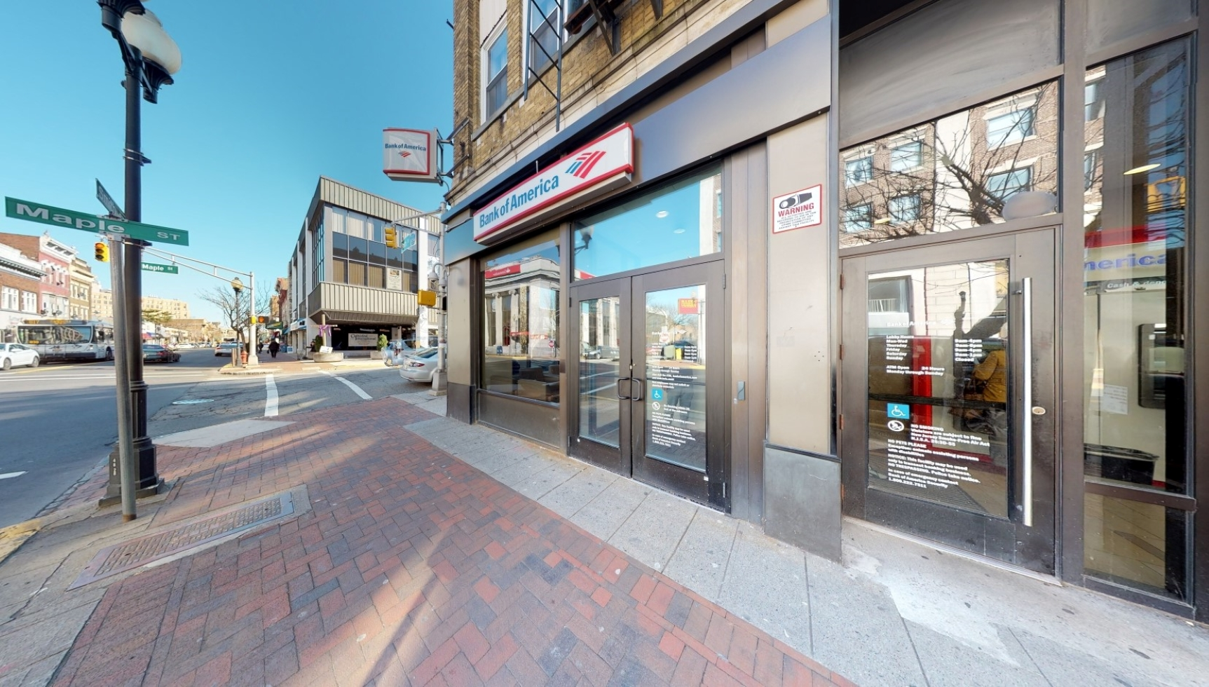 Bank of America financial center with walk-up ATM | 211 Smith St, Perth Amboy, NJ 08861