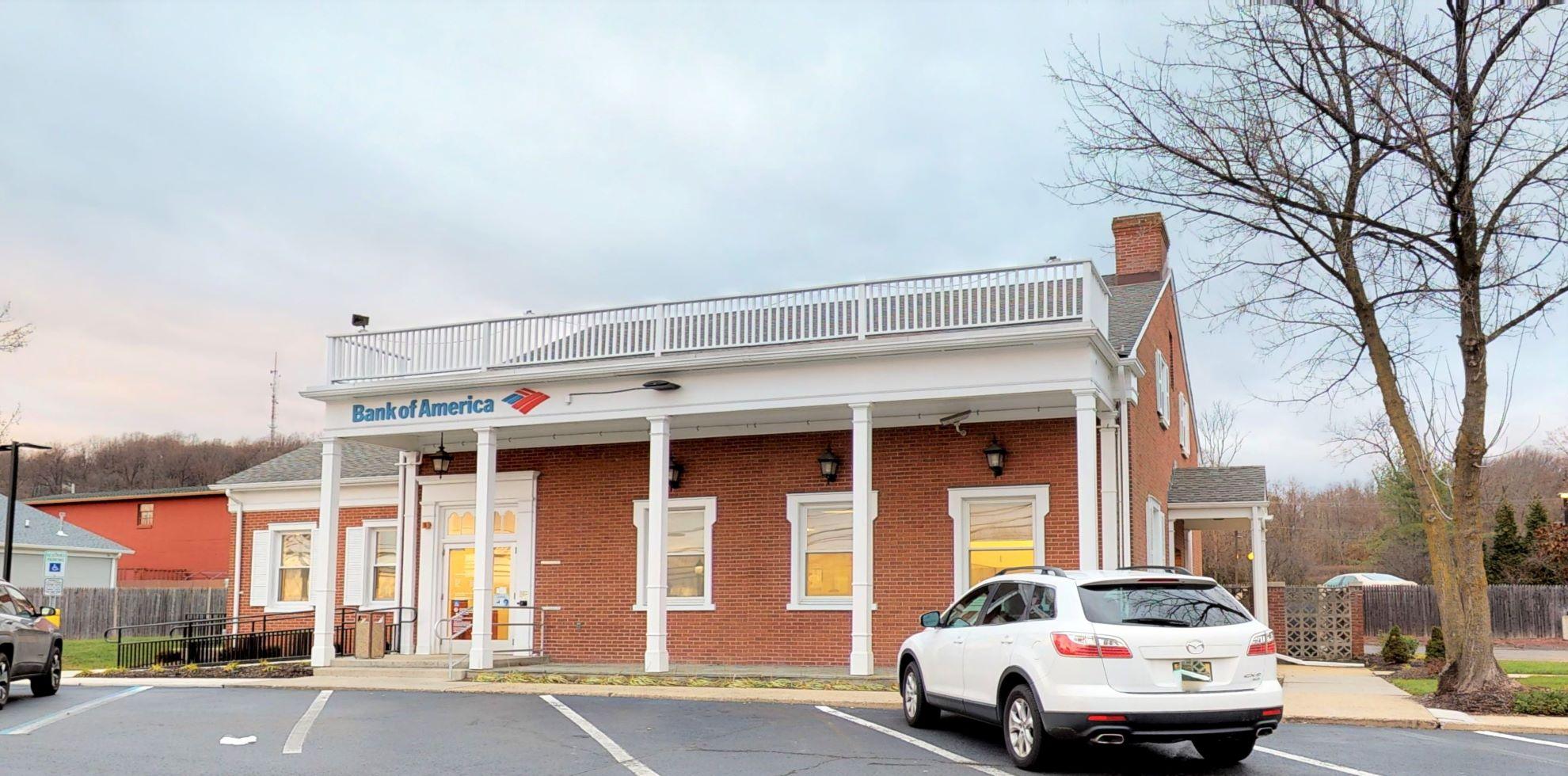 Bank of America financial center with drive-thru ATM | 59 Mountain Blvd, Warren, NJ 07059