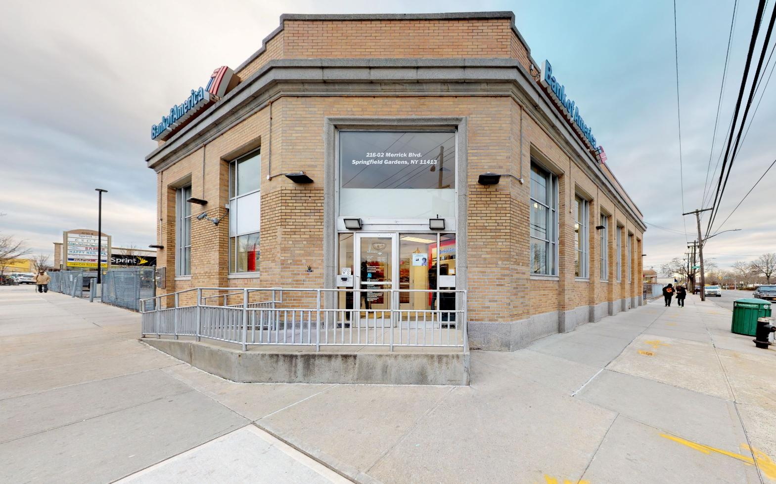 Bank of America financial center with walk-up ATM | 21602 Merrick Blvd, Springfield Gardens, NY 11413