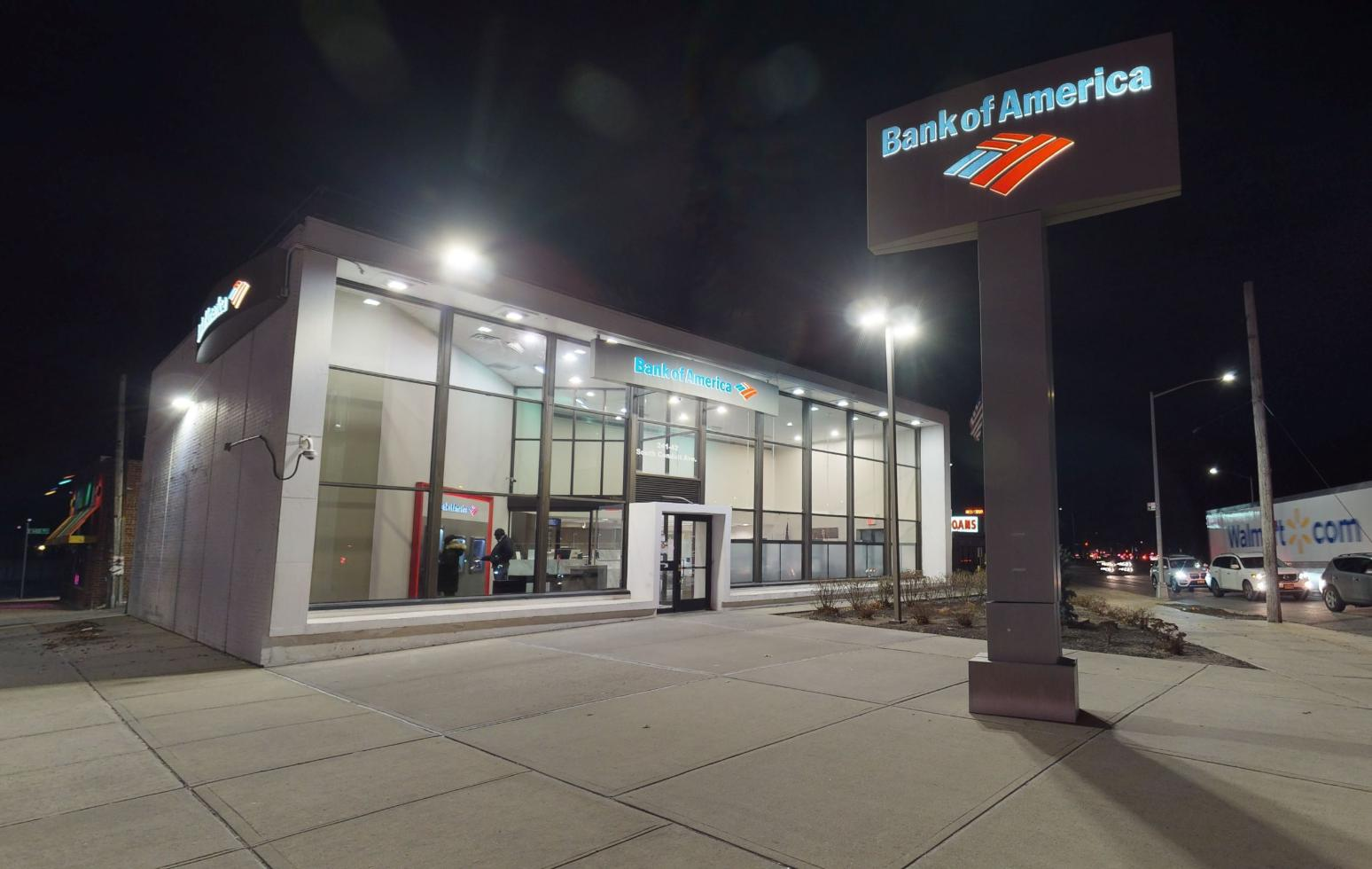 Bank of America financial center with walk-up ATM | 24142 S Conduit Ave, Rosedale, NY 11422