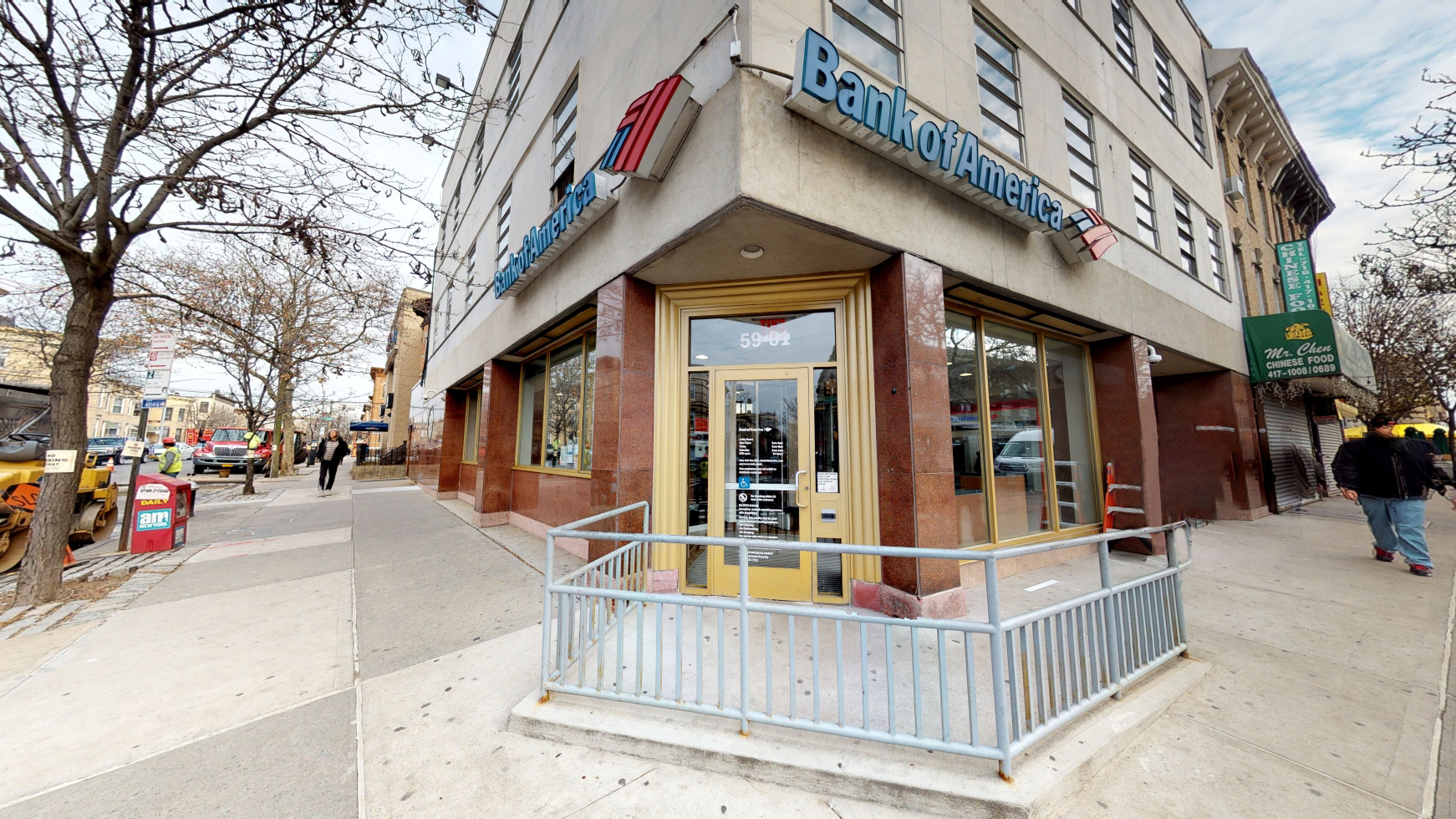 Bank of America financial center with walk-up ATM | 5901 Myrtle Ave, Ridgewood, NY 11385