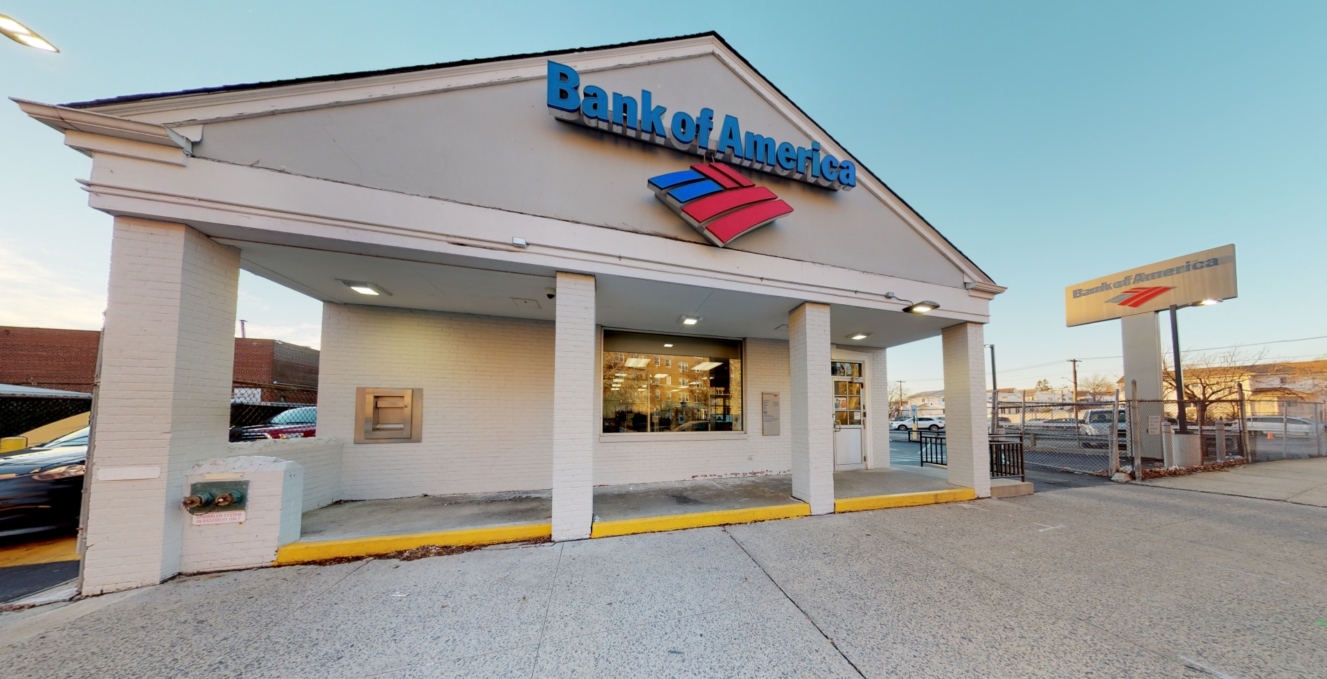 Bank of America financial center with walk-up ATM   15116 84th St, Howard Beach, NY 11414