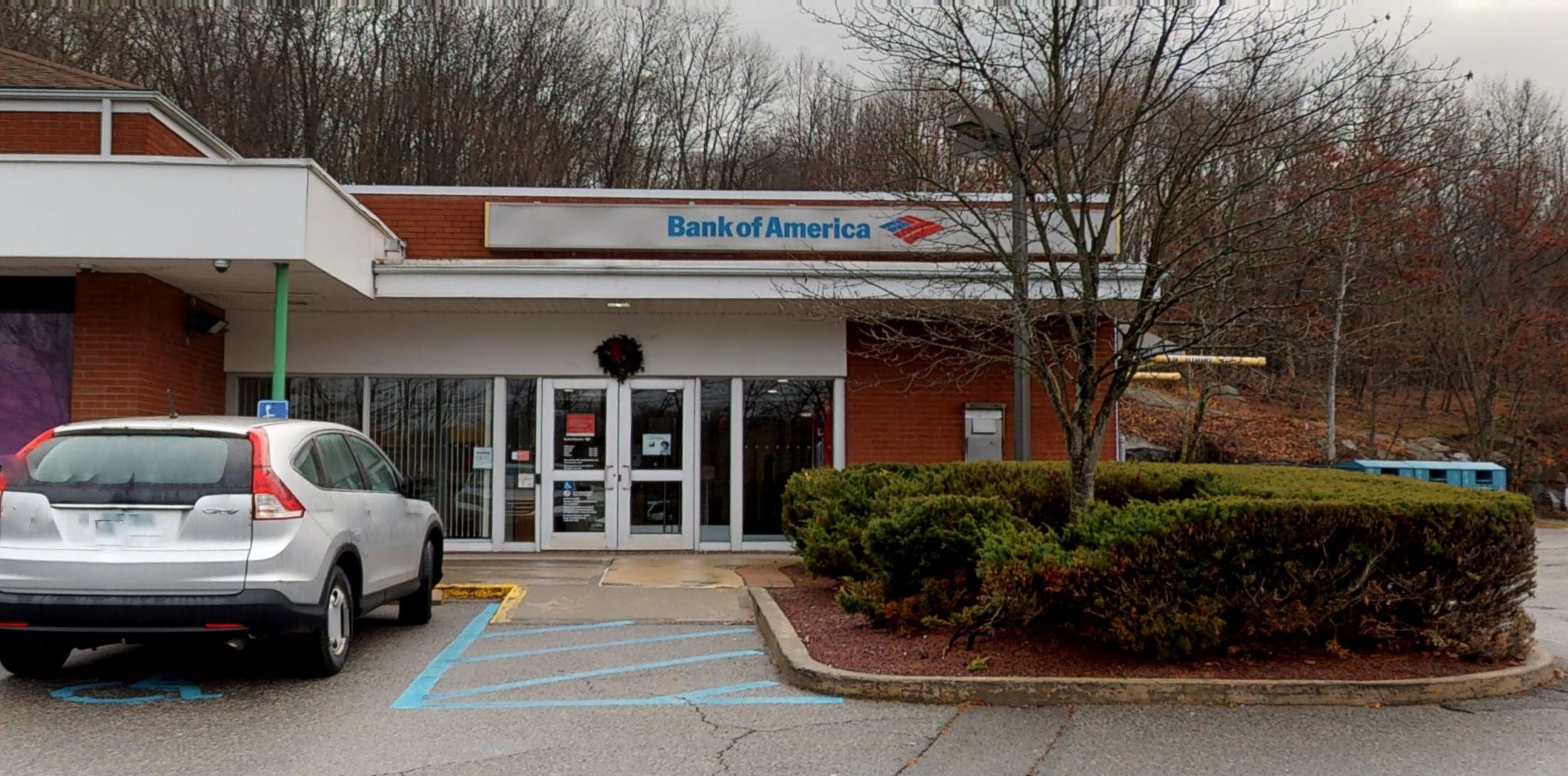 Bank of America financial center with drive-thru ATM   130 N County Shopping Ctr, Goldens Bridge, NY 10526