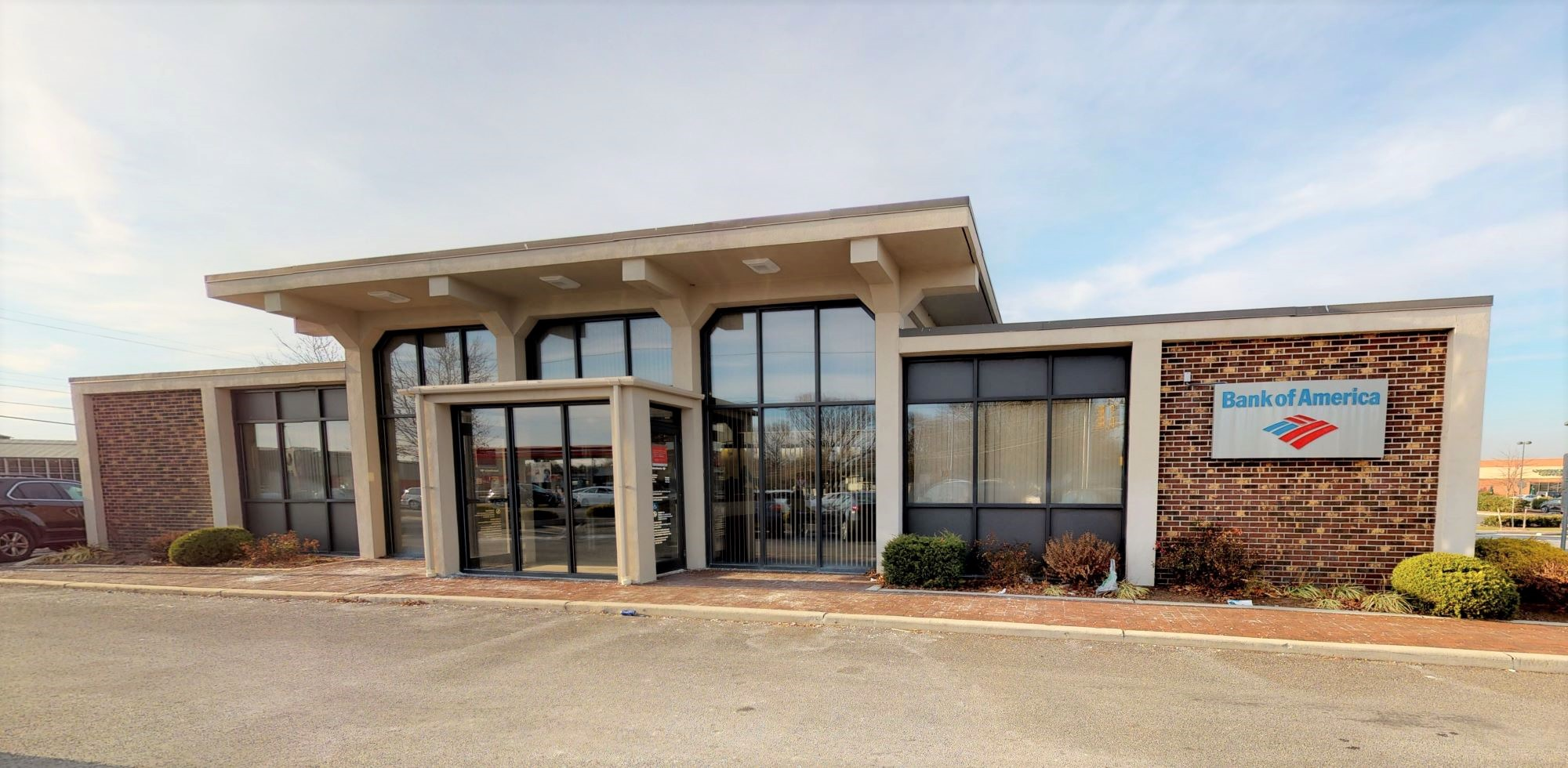 Bank of America financial center with drive-thru ATM   321 New Rd, Somers Point, NJ 08244