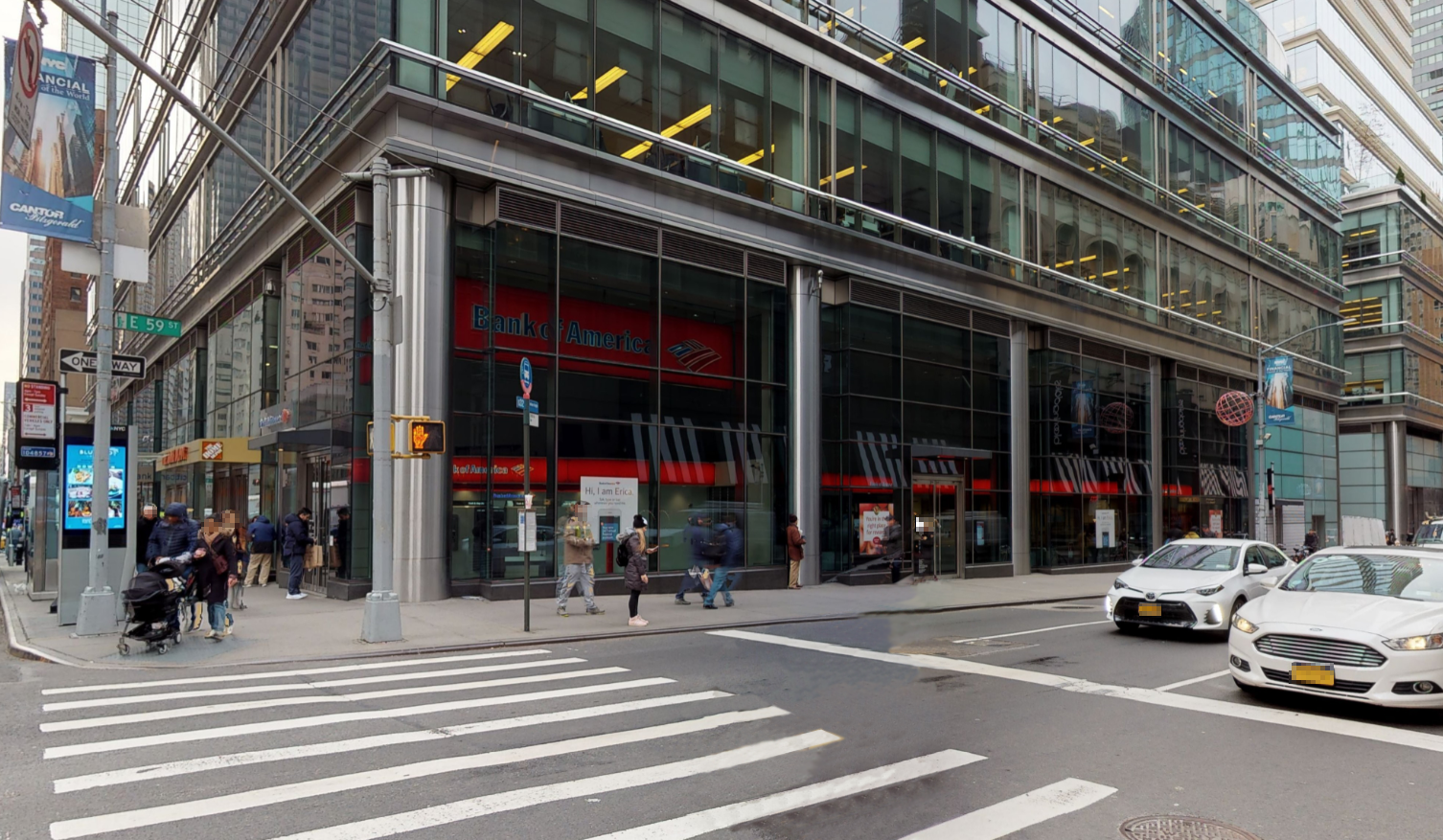 Bank of America financial center with walk-up ATM | 988 3rd Ave, New York, NY 10022
